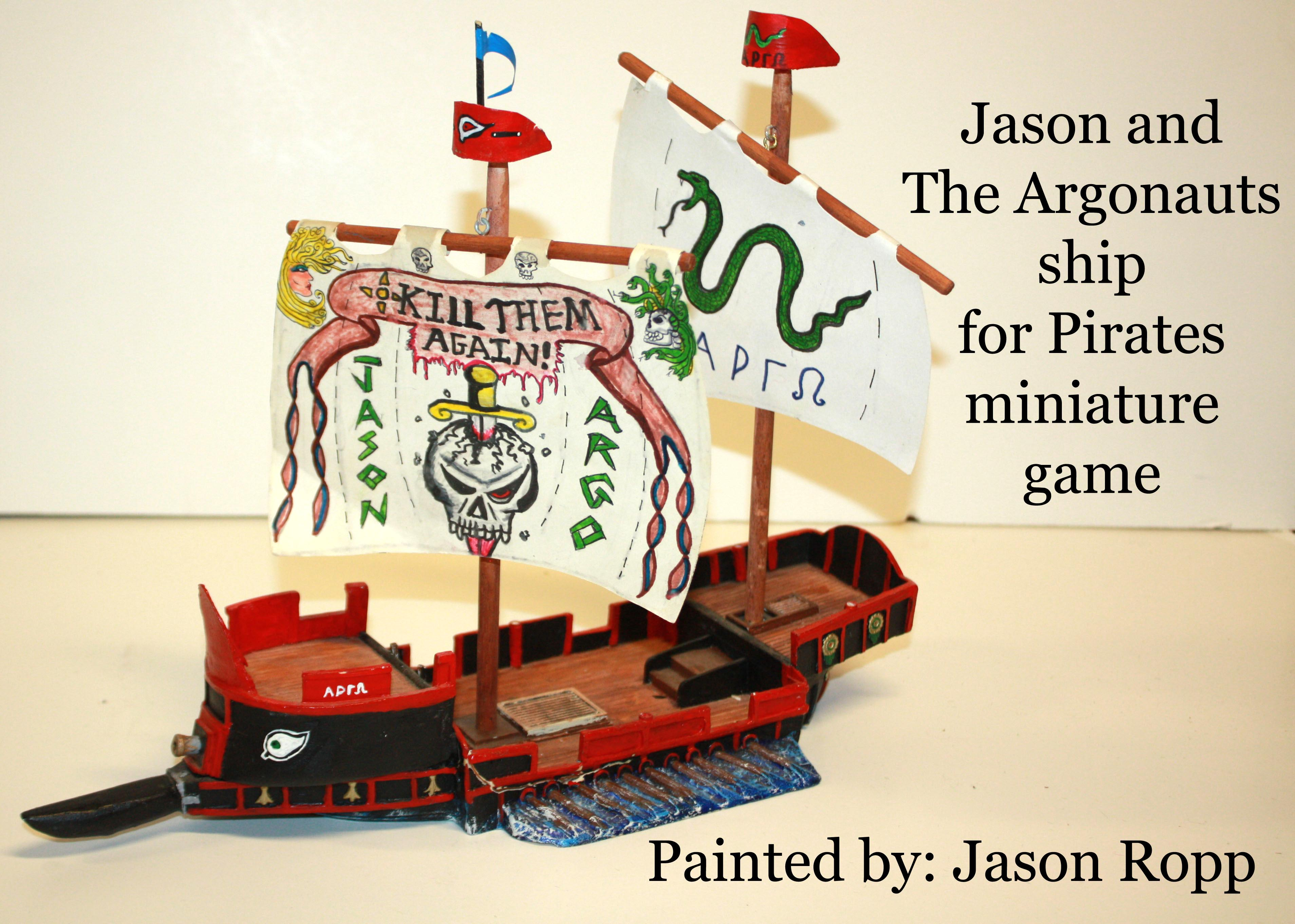 28mm, Argonauts, Jason, Miniature Game, Pirate, Pirates, Pirates! Ship, Sailor, War Games