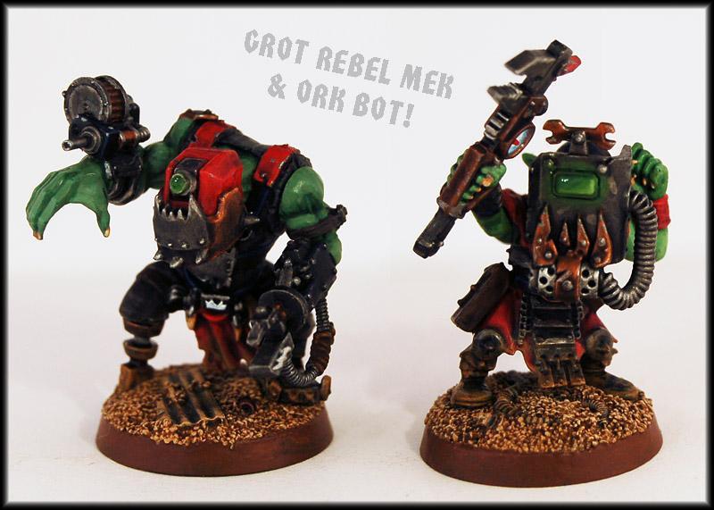Engineer, Goblins, Greenskins, Gretchin, Grots, Mekboy, Orks, Rebel Grots, Servitors, Tekboy, Warhammer 40,000
