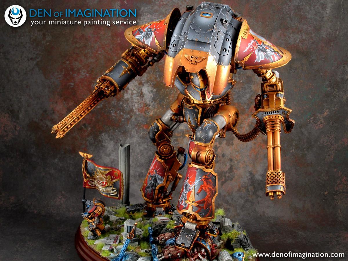 Acheron, Forge World, Imperial Knight, Warhammer 40,000