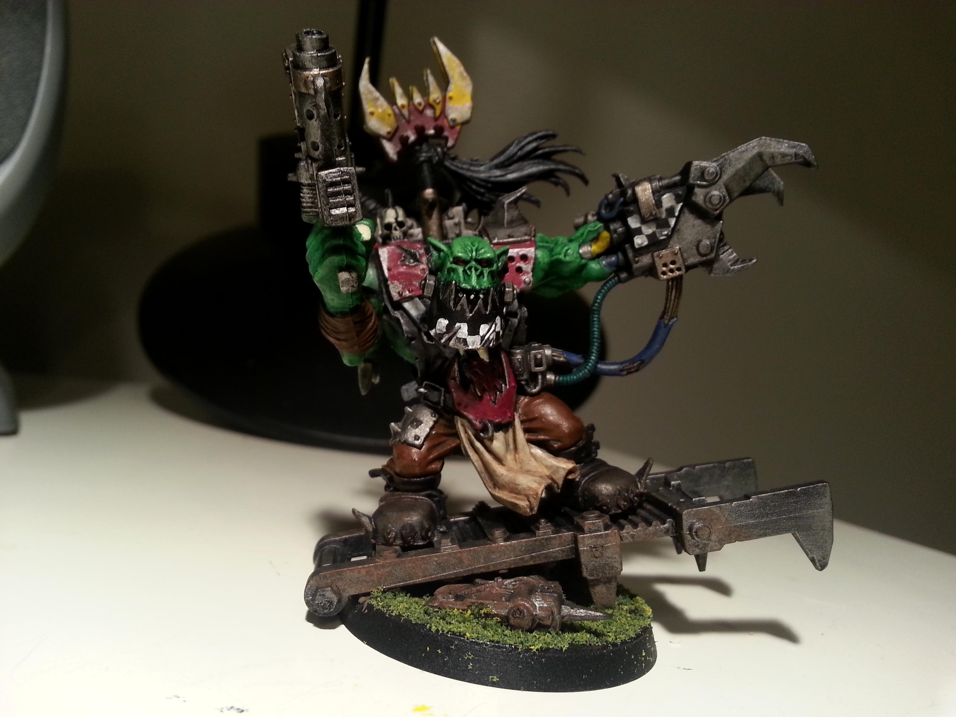 Orks, Warboss, Warboss