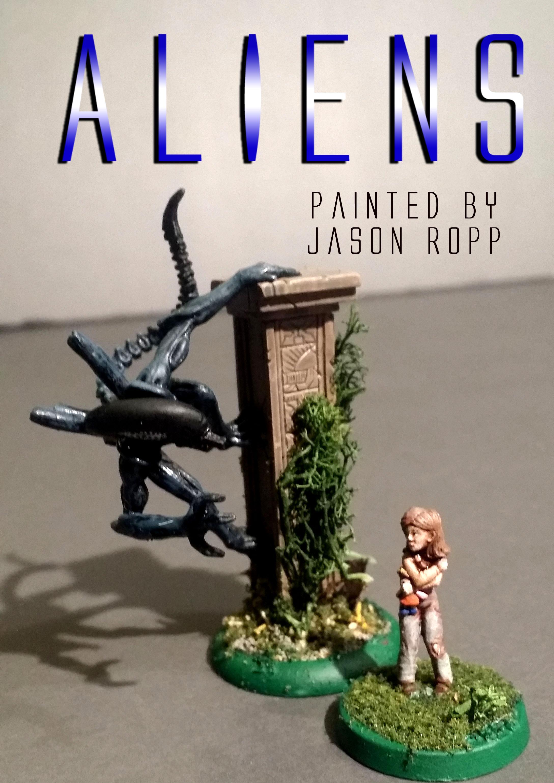 Alien, Aliens, Avp, Colonial Marines, Hasslefree, Horrorclix, Miniaturem Miniatures, Newt, Pred, Predator, Prodos, Ripley