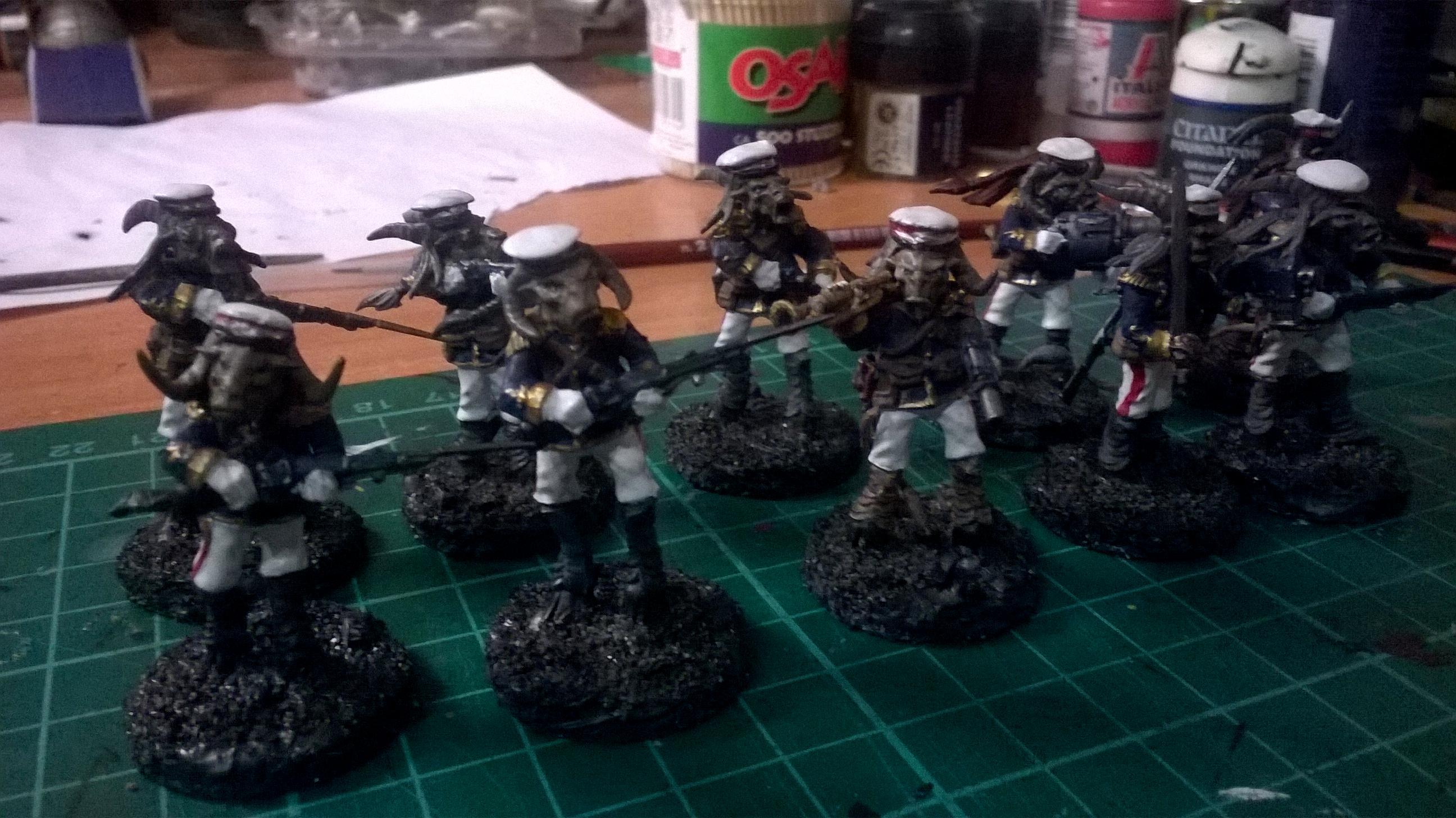 Astra Militarum, Beastmen, Bestigor, Conversion, Imperial Guard