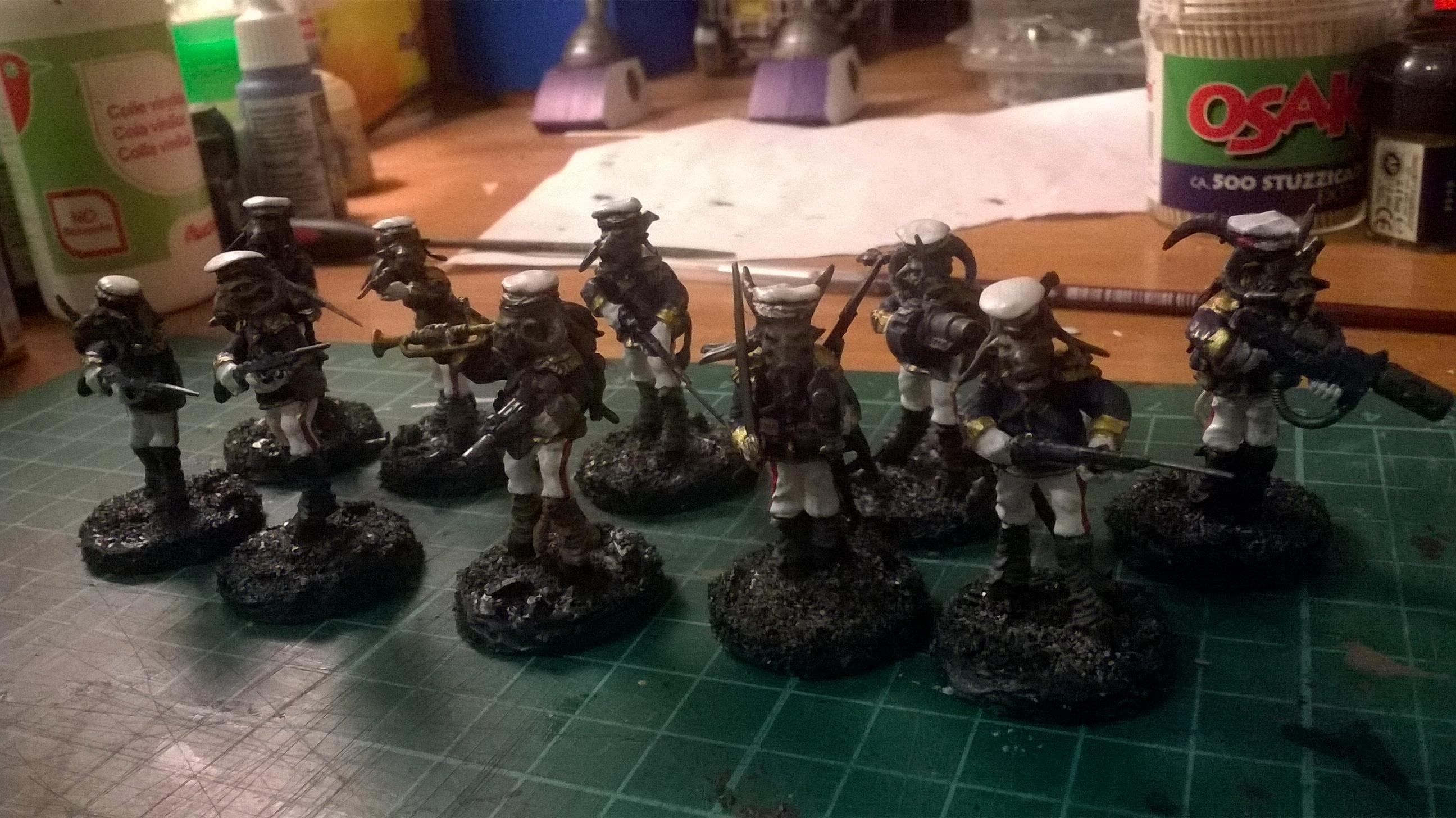 Astra Militarum, Beastmen, Bestigor, Conversion, Imperial Guard