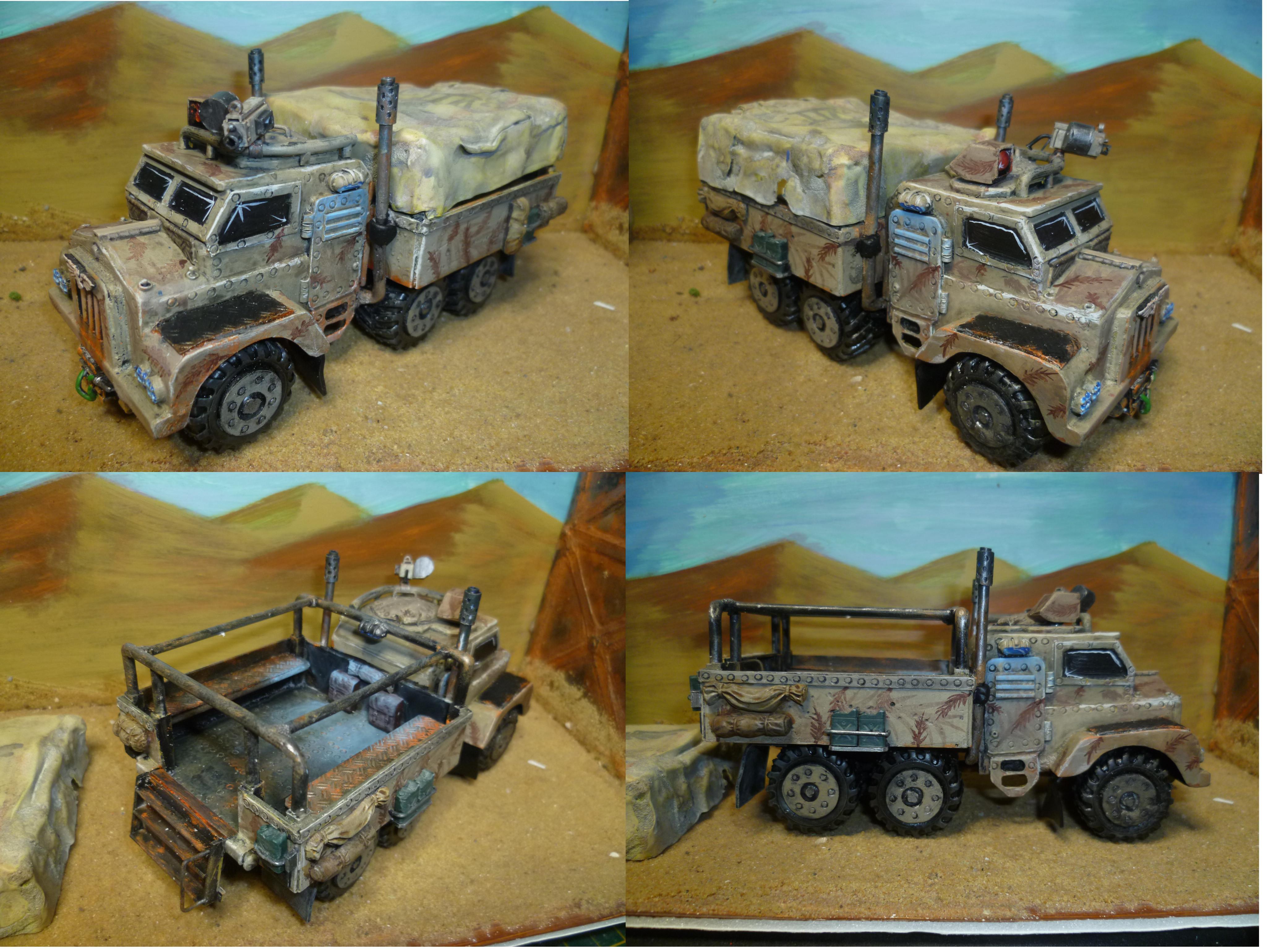 Civilian, Imperial Guard, Taurox, Truck, Wheeled