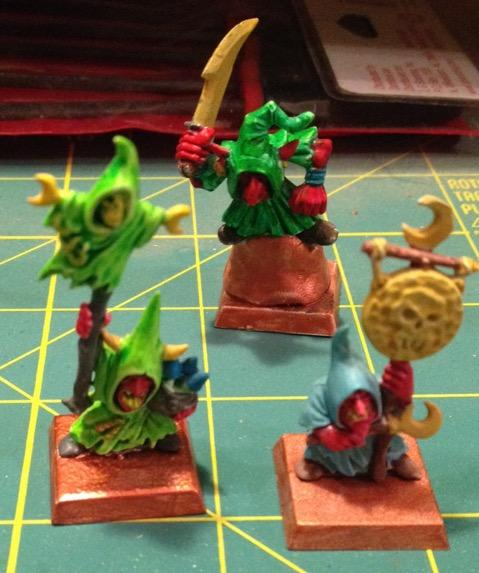 Night Goblin characters