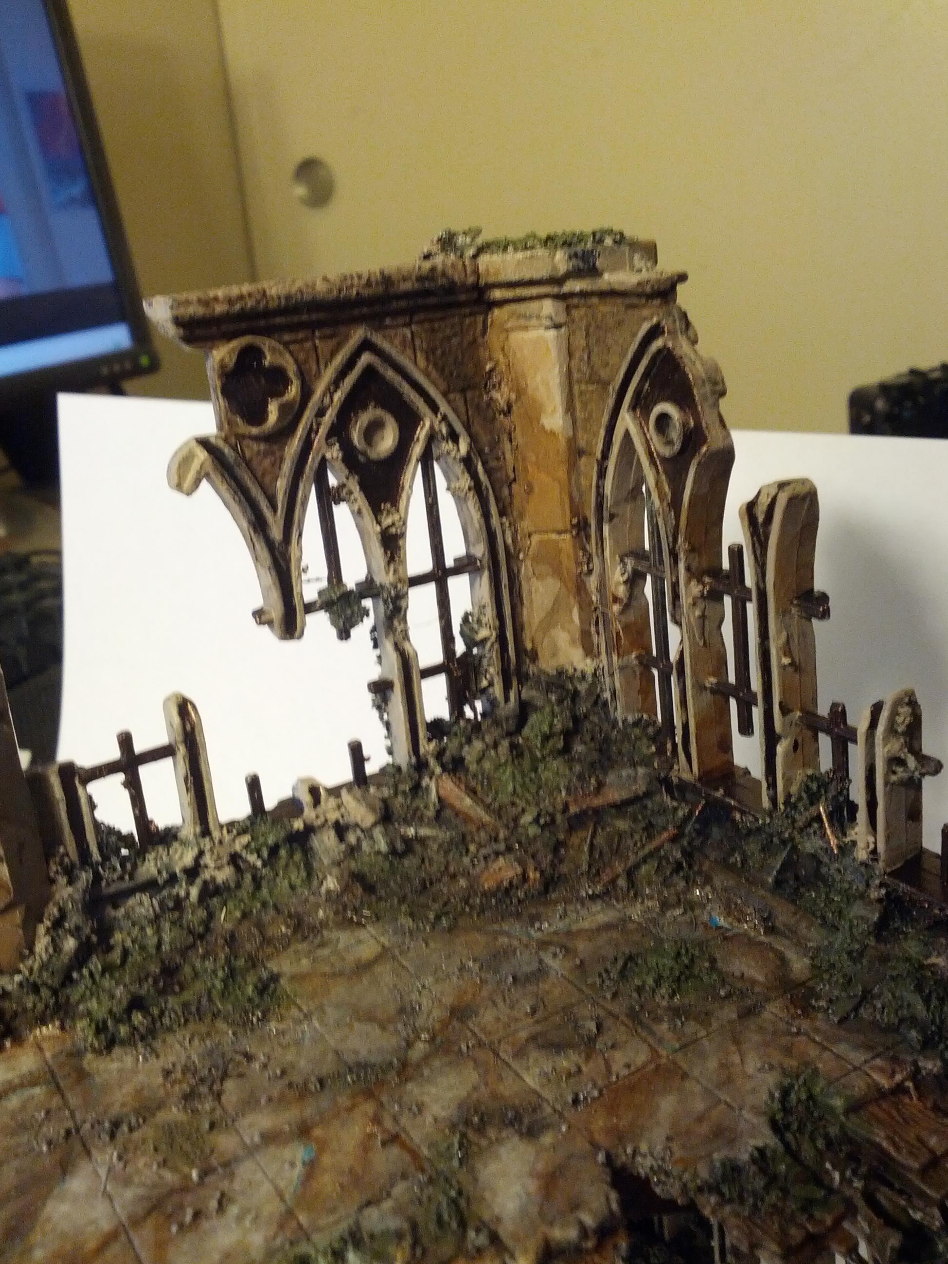 Gothic, Ruins, Warhammer 40,000