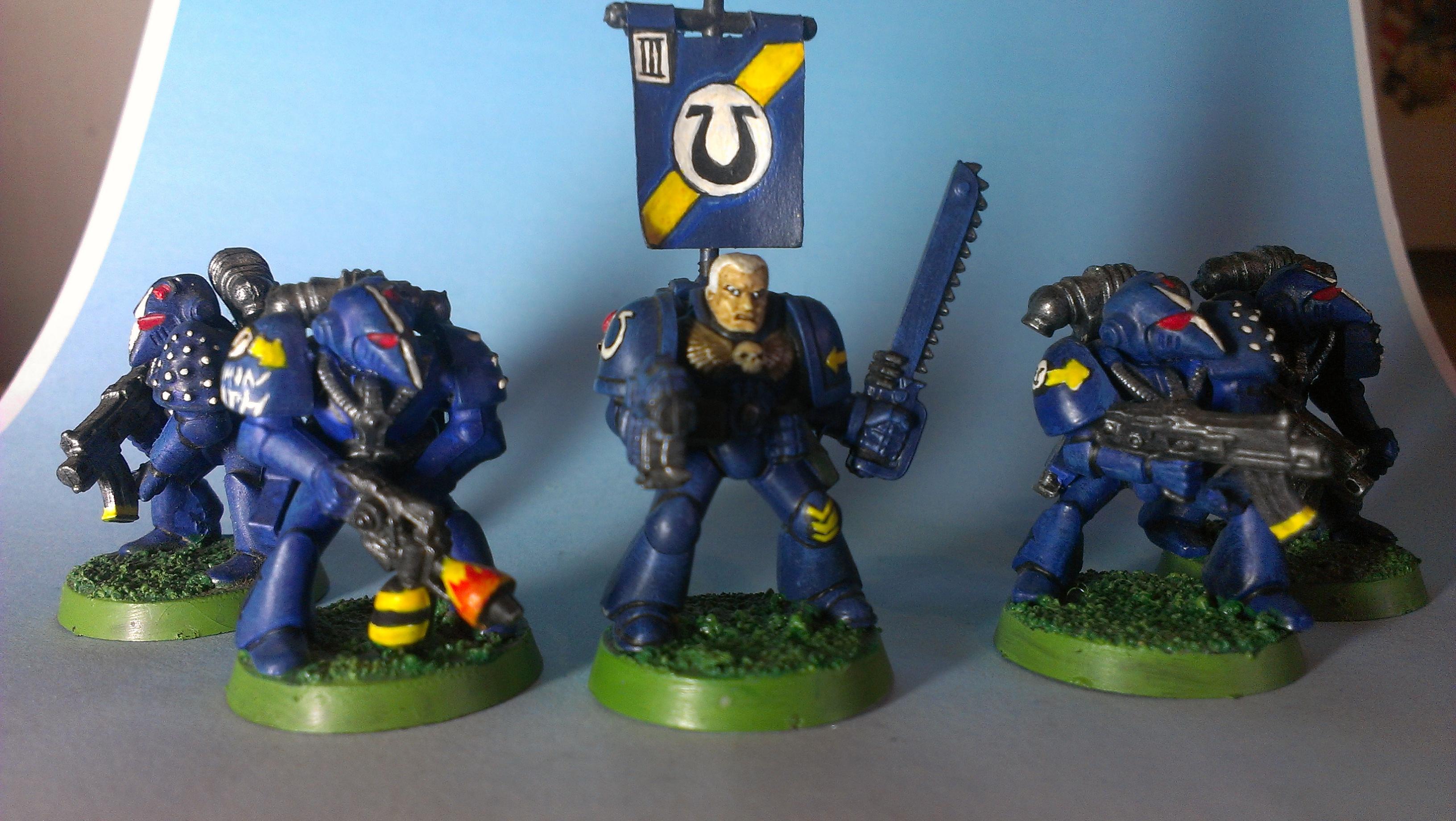 Rogue Trader, Space Marines, Ultramarines