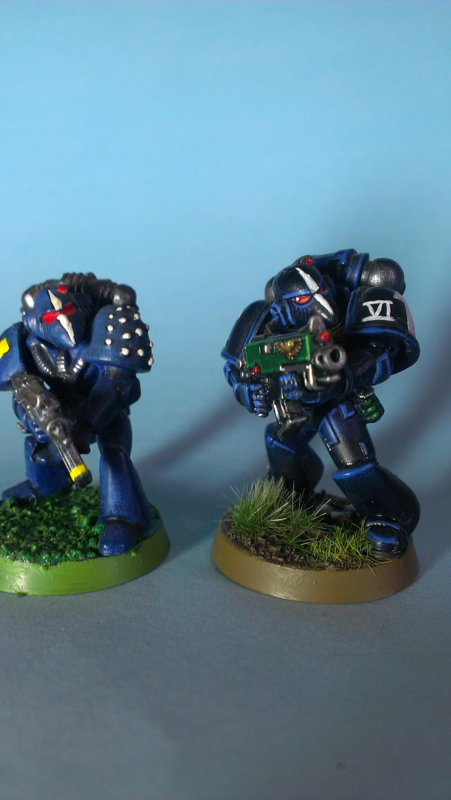 Rogue Trader, Space Marines, Tactical Squad, Ultramarines