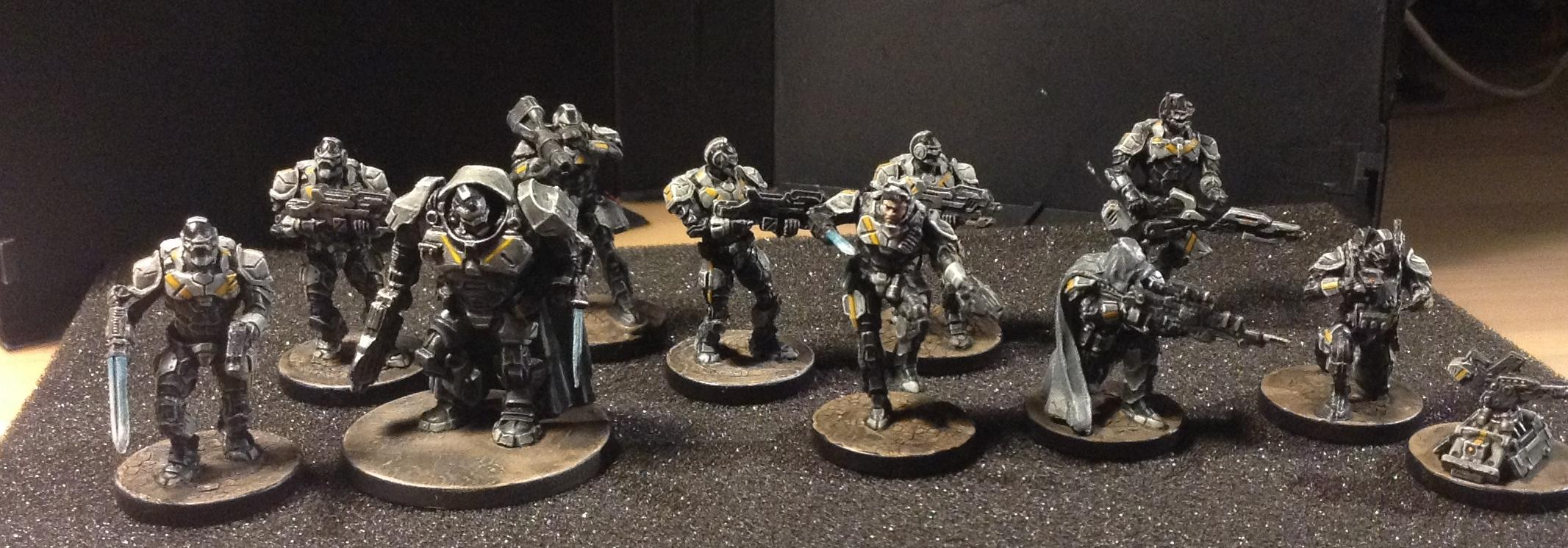 Armor, Enforces, Mantic, Riccardo Margarolo, Scifi