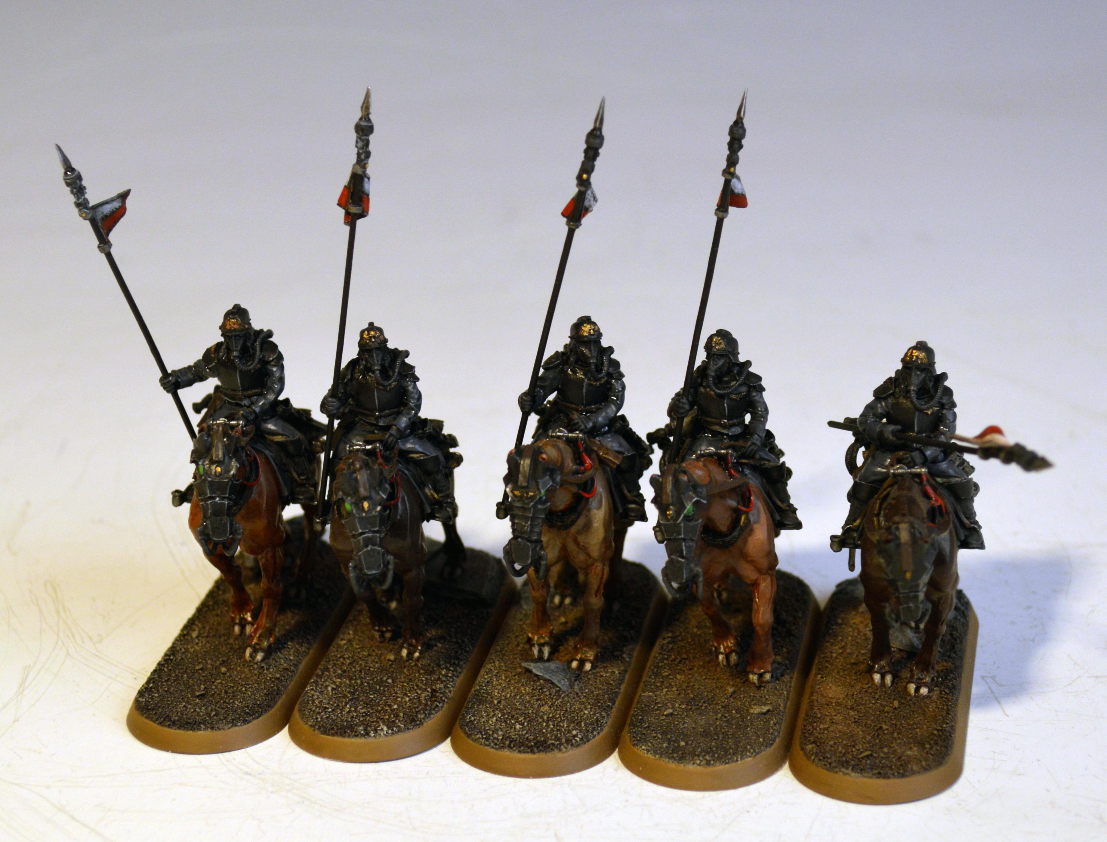 Astra Militarum, Death Korps of Krieg, Death Rider, Imperial Guard, Rough Riders