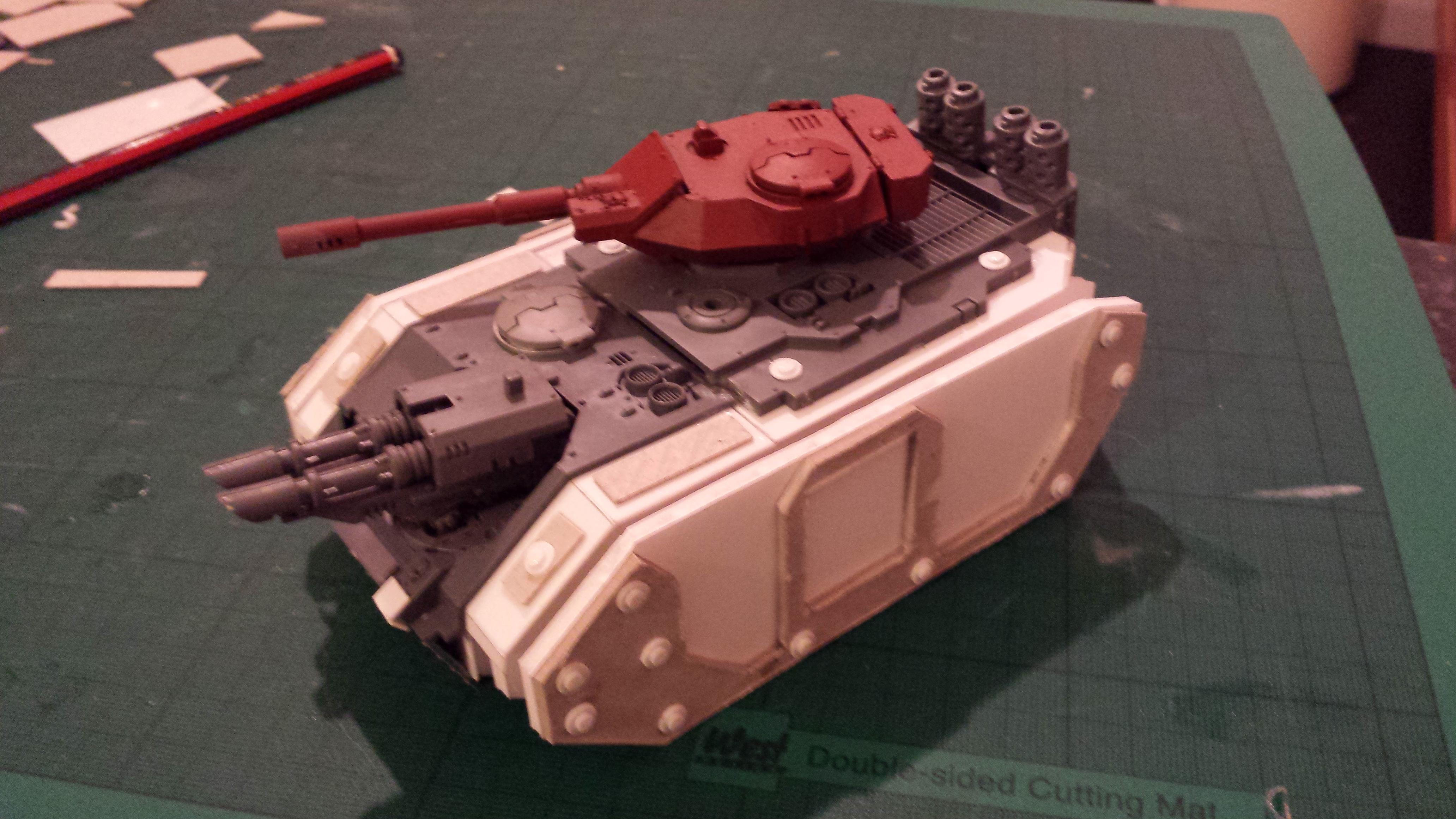 Assault Carrier, Estoc, Kit Bash, Scratch Build