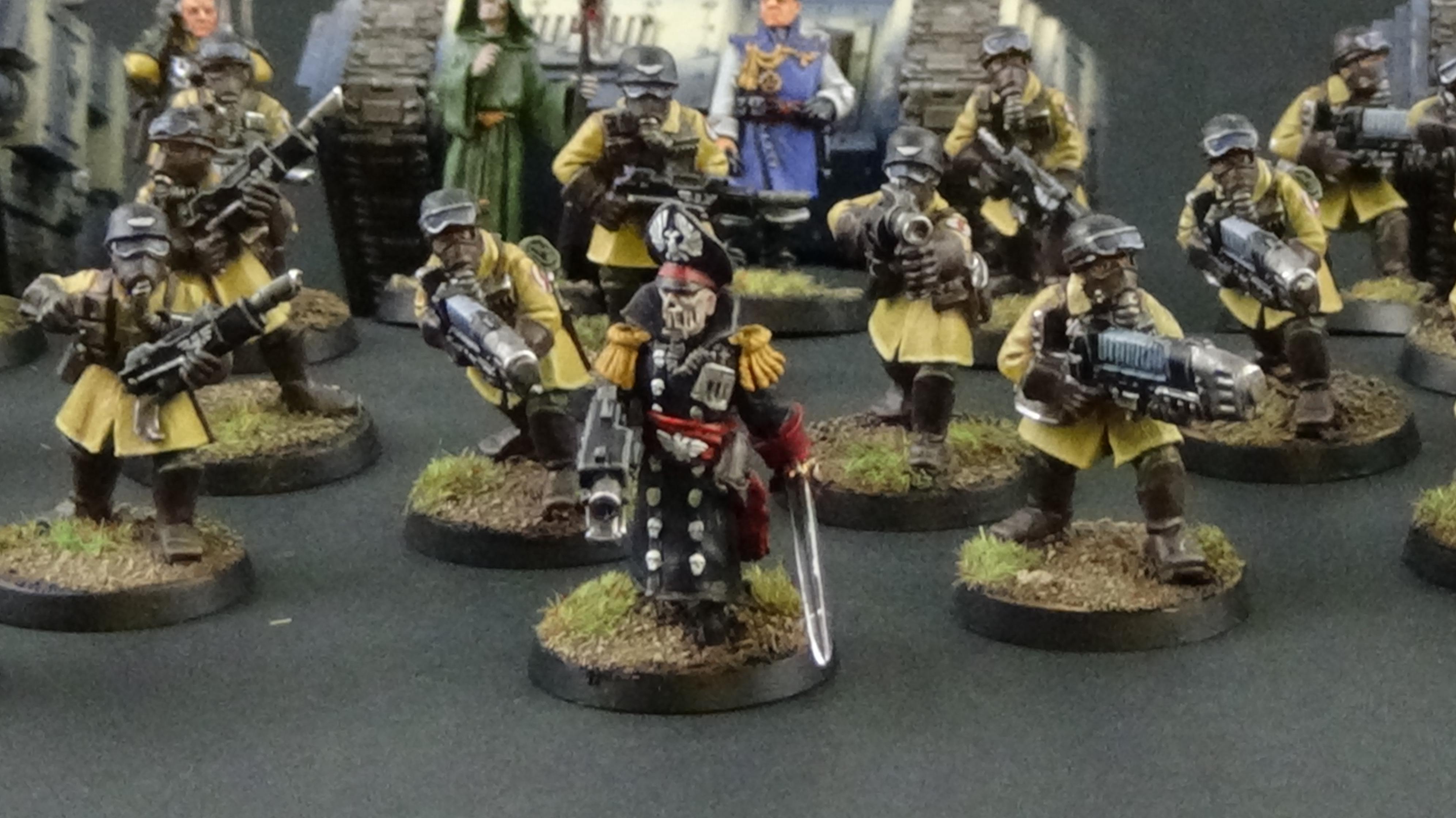 Astra, Comissar, Commissar, Imperial Guard, Militarum, Steel Legion
