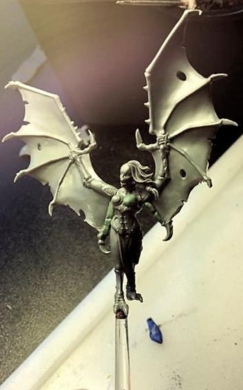 Beastmen, Dark Elves, Harpy, Warhammer Fantasy