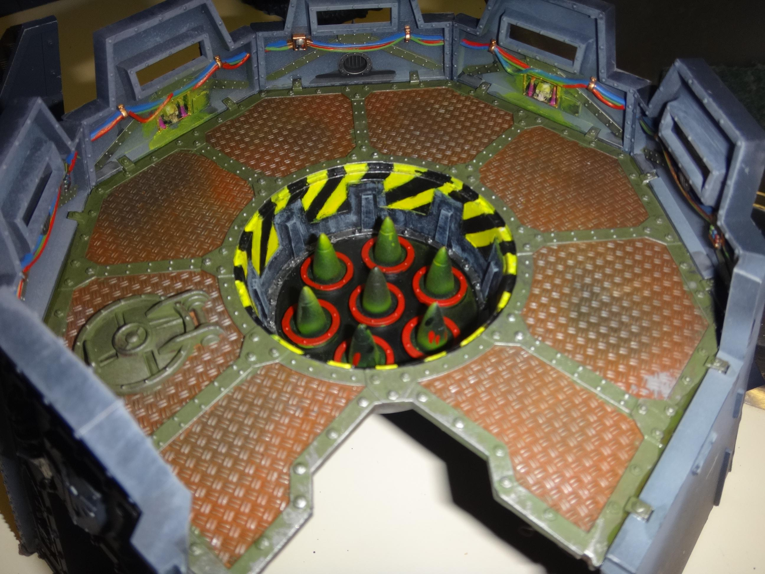Fortress Of Redemption, Missile Silo, Terrain, Warhammer 40,000