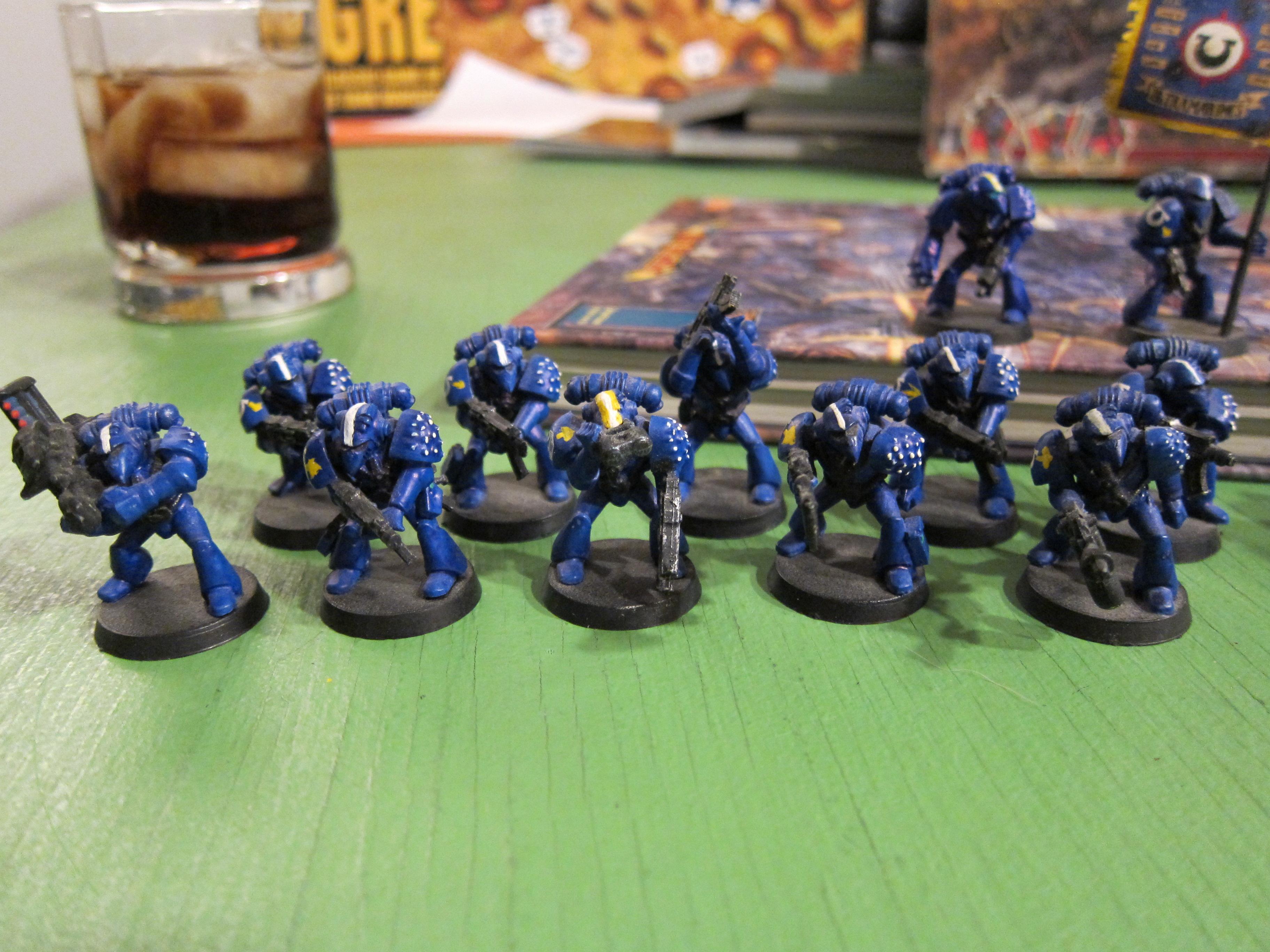 Ultramarines 3rd co, 1st squad