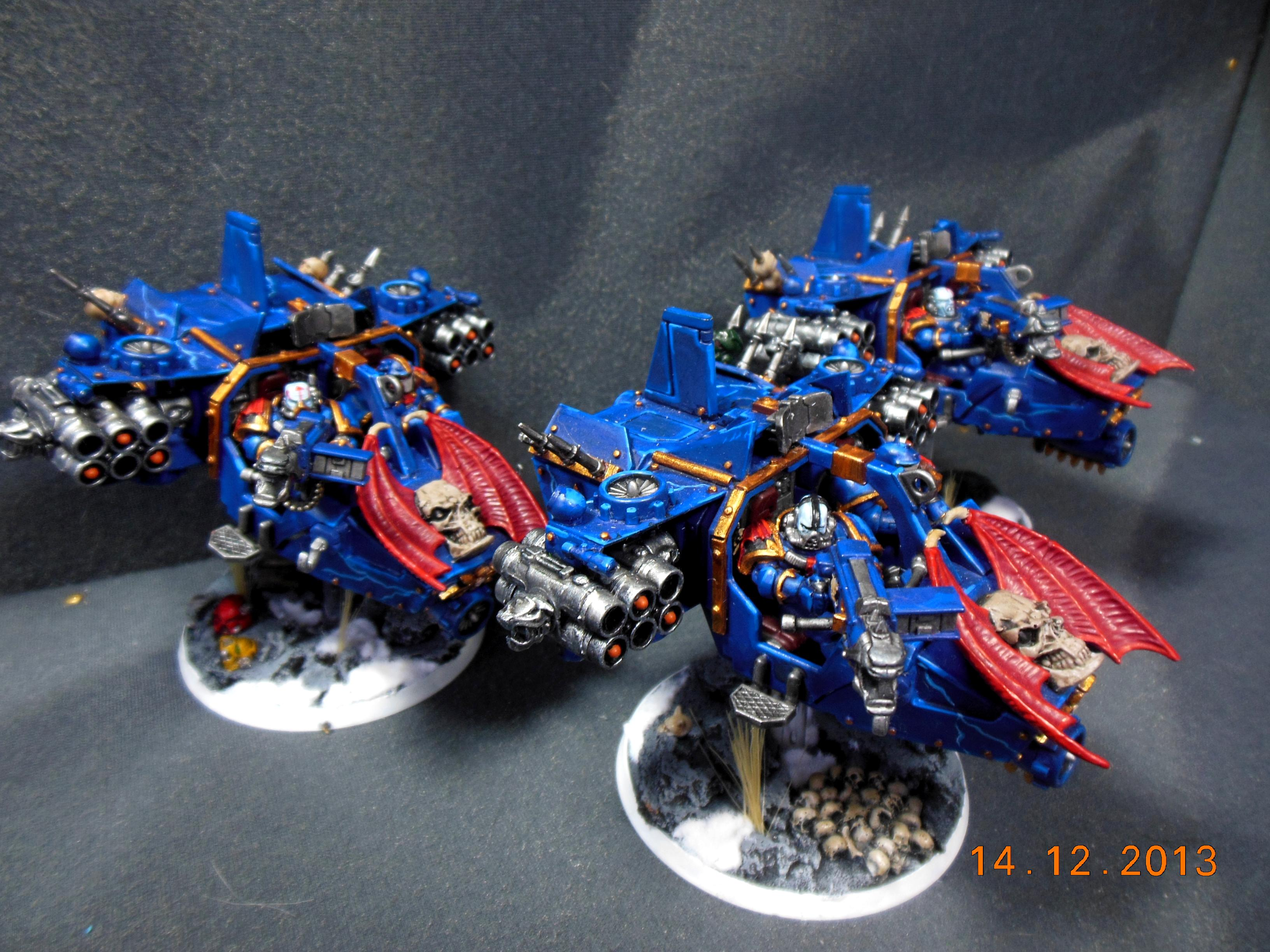 Chaos Space Marines, Land Speeder, Night Lords