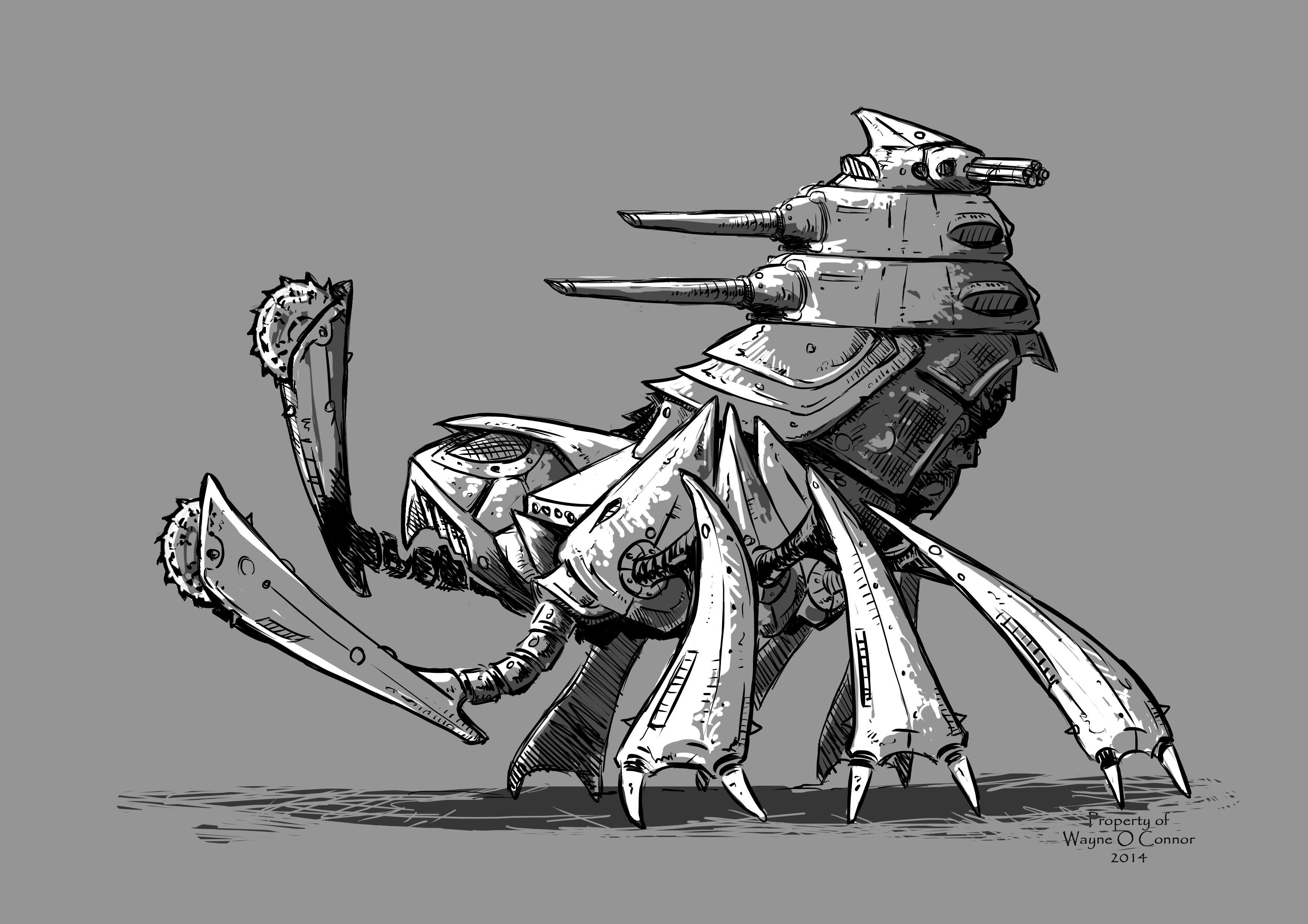 New Heavy Aphid Mech