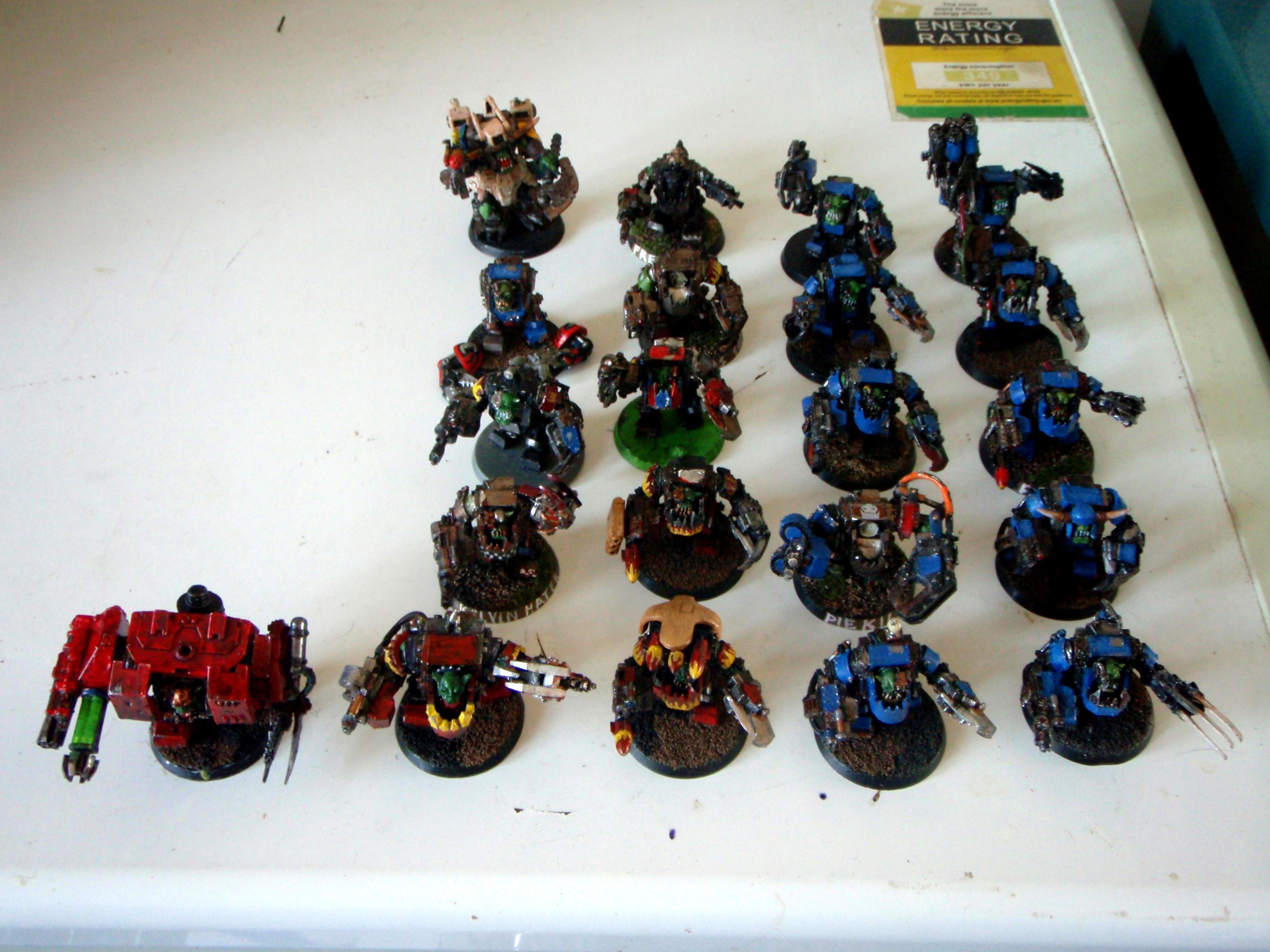 Megarmor, Nob, Orks, 21 Meganobs