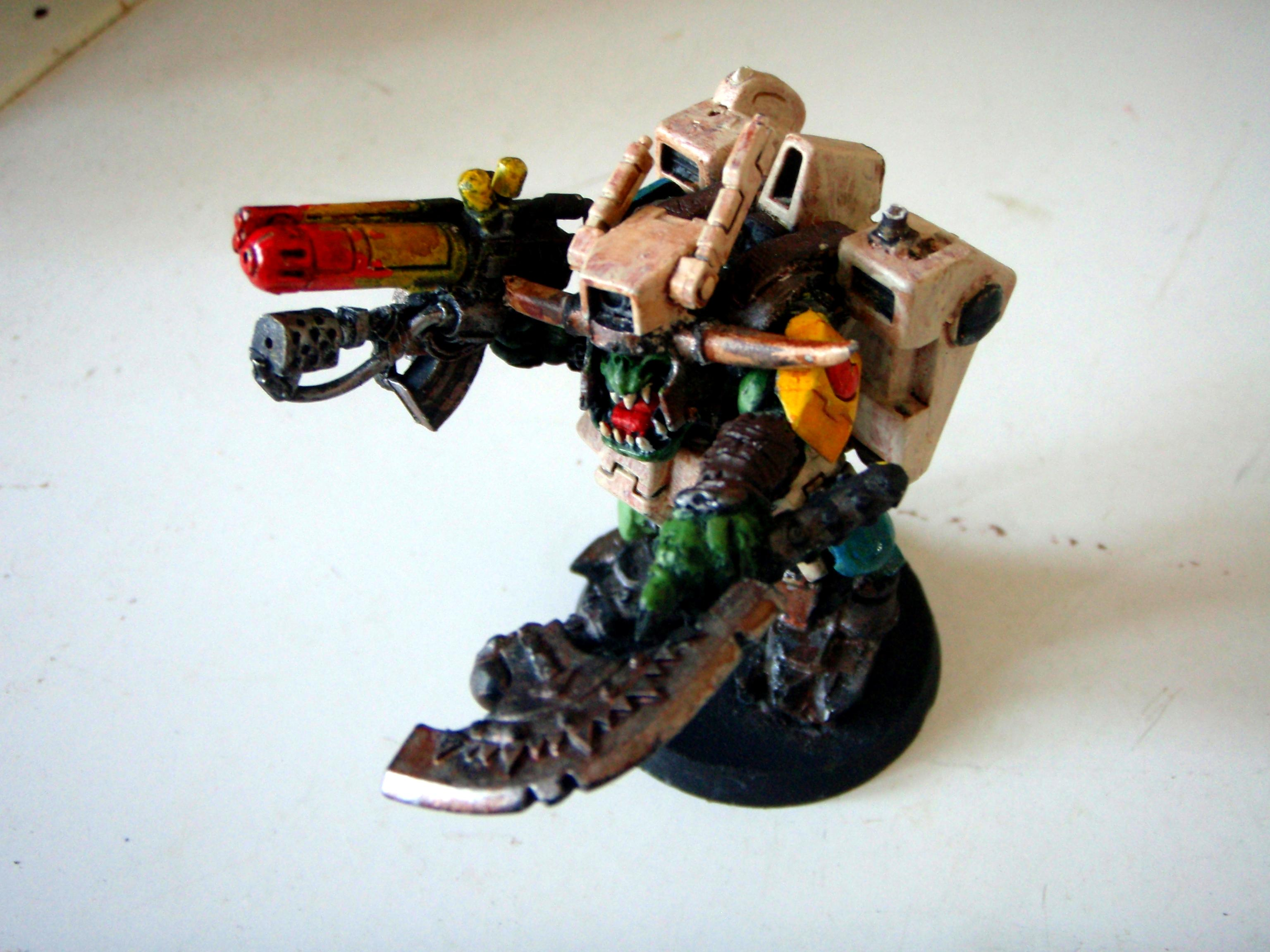 Megarmor, Nob, Orks, taunob2