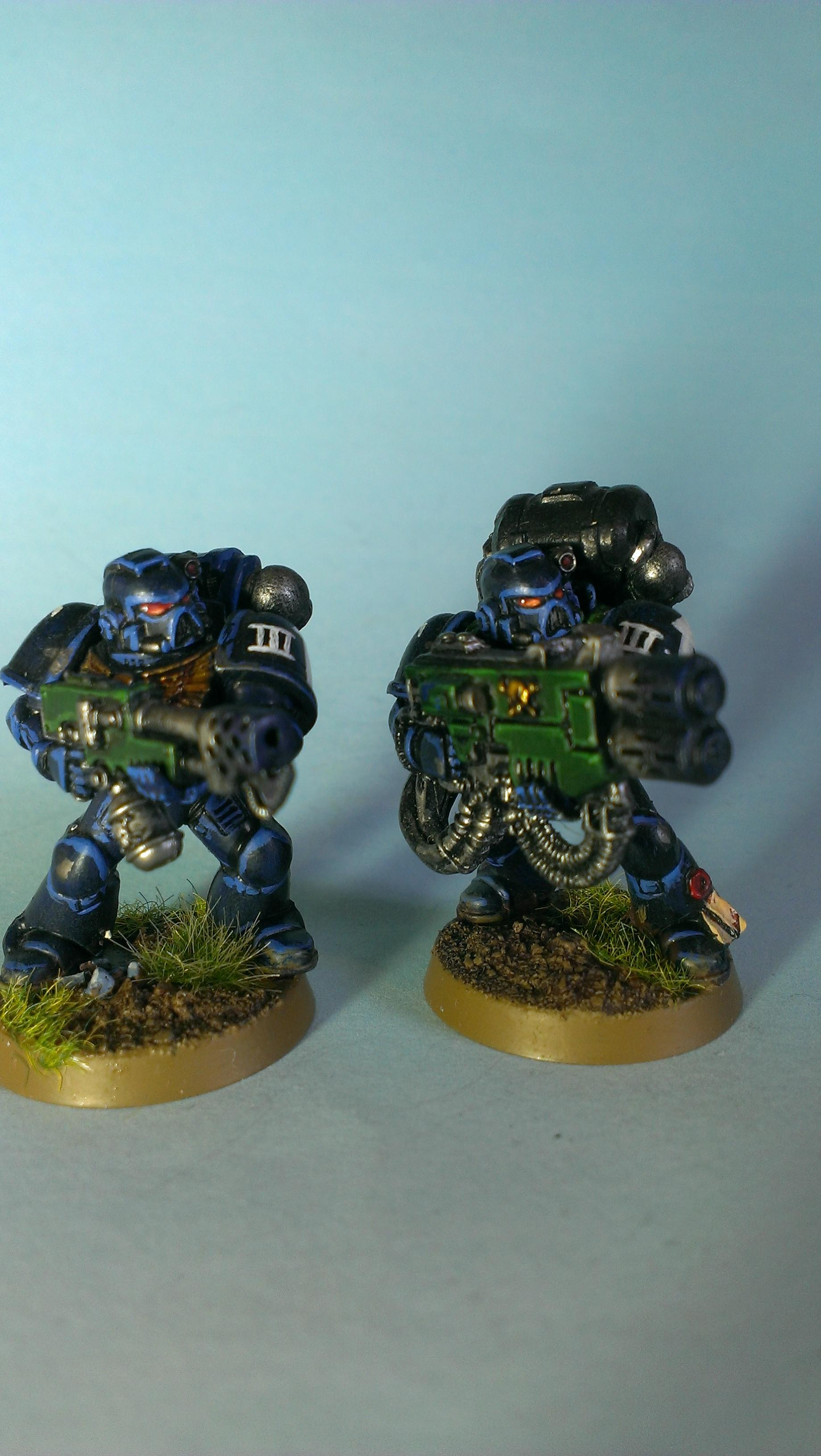 Flamer, Multi Melta, Space Marines, Tactical, Ultramarines
