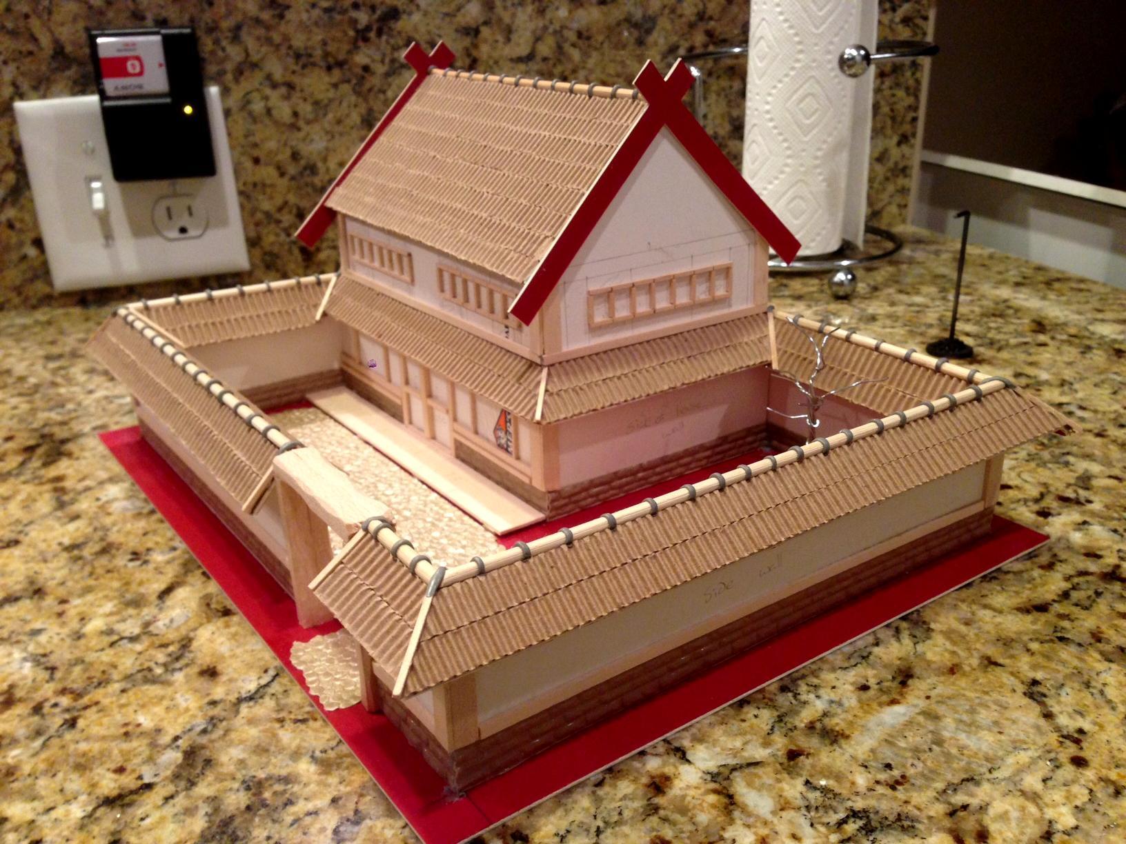 House, Samurai, Scratch Build, Terrain