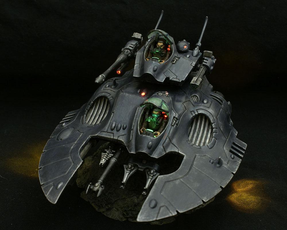 Eldar, Falcon, LED, Light