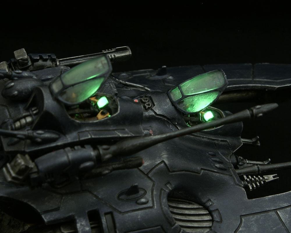 Cockpit, Dashboard, Eldar, Falcon, LED, Light, Lighting, Tank