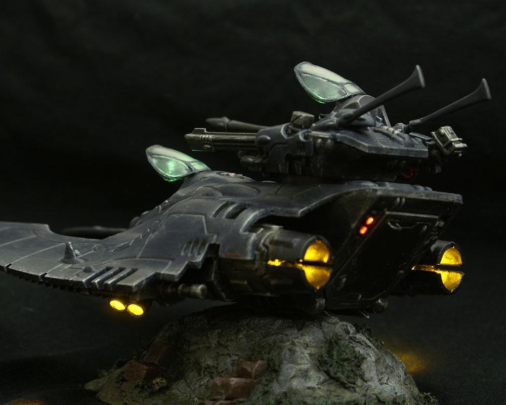 Eldar, Engines, Exhaust, Falcon, LED, Light, Tank