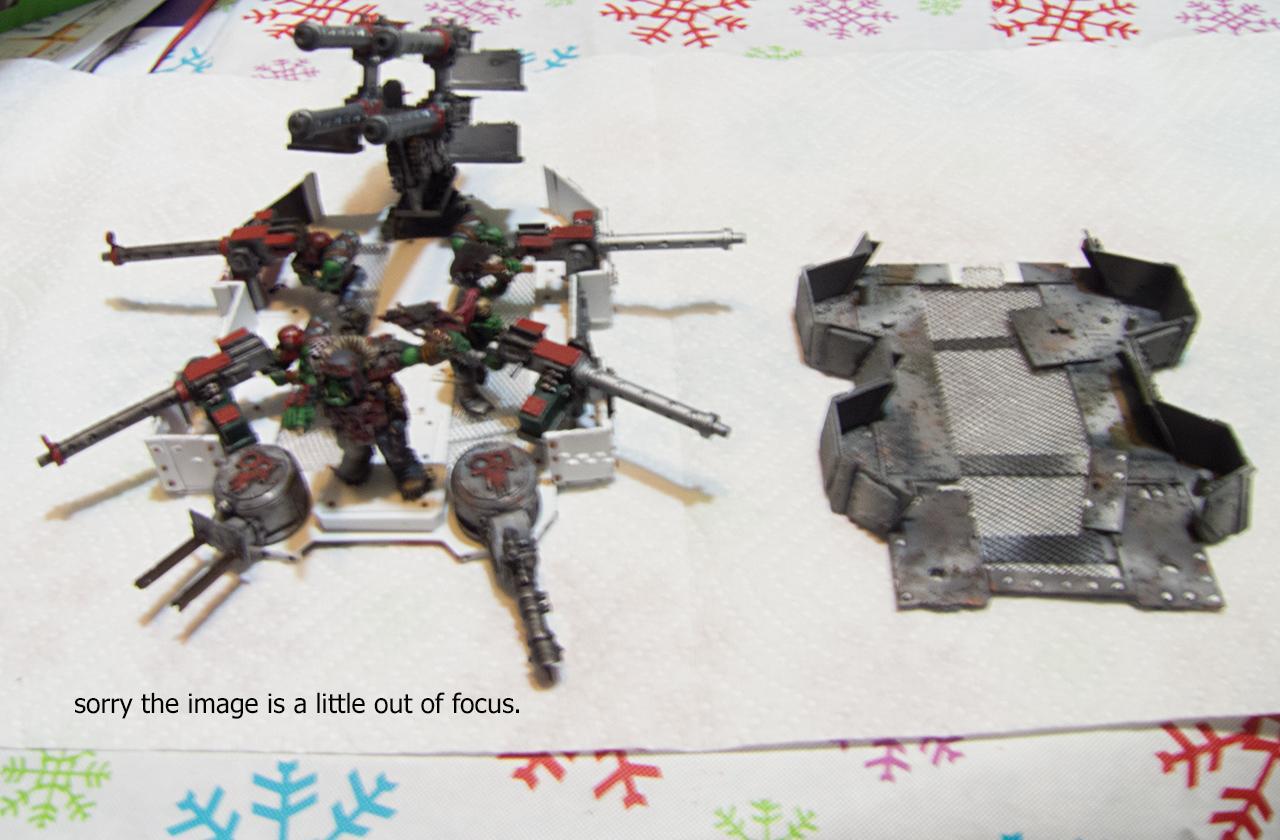 Battle Fortress, Orks, Ouze, Scratch Build, Super-heavy, Warhammer 40,000, Work In Progress
