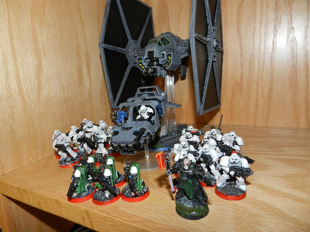 Star Wars, Storm Talon, Storm Troopers, Tie Fighter