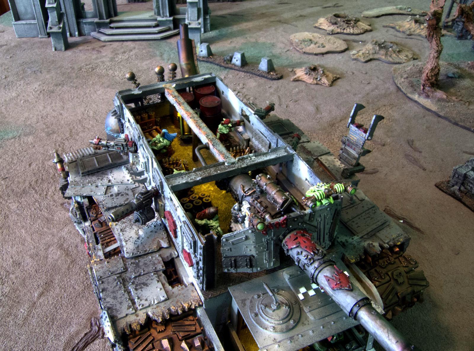 Battle Fortress, Orks, Ouze, Scratch Build, Super-heavy, Warhammer 40,000