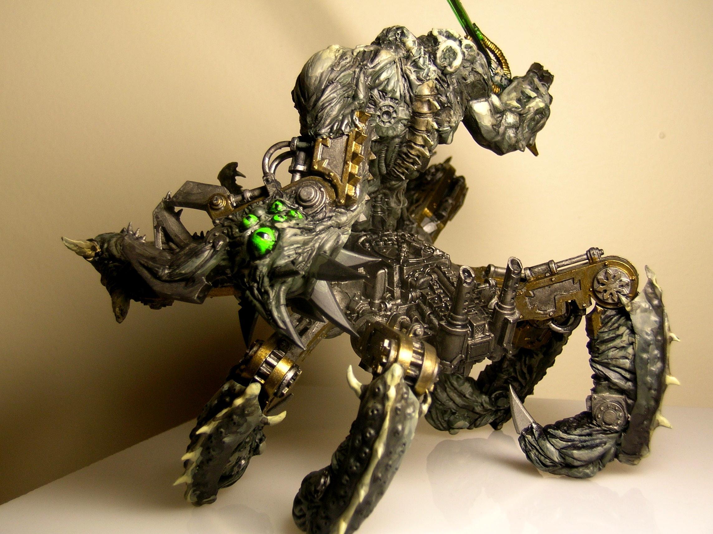 Chaos, Daemons, Nurgle, Soul Grinder, Space Marines, Warhammer 40,000, Warhammer Fantasy