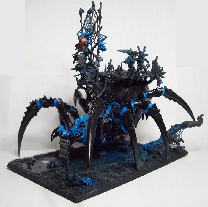Arachnarok Spider, Forest Goblins., Goblins, Night Goblins