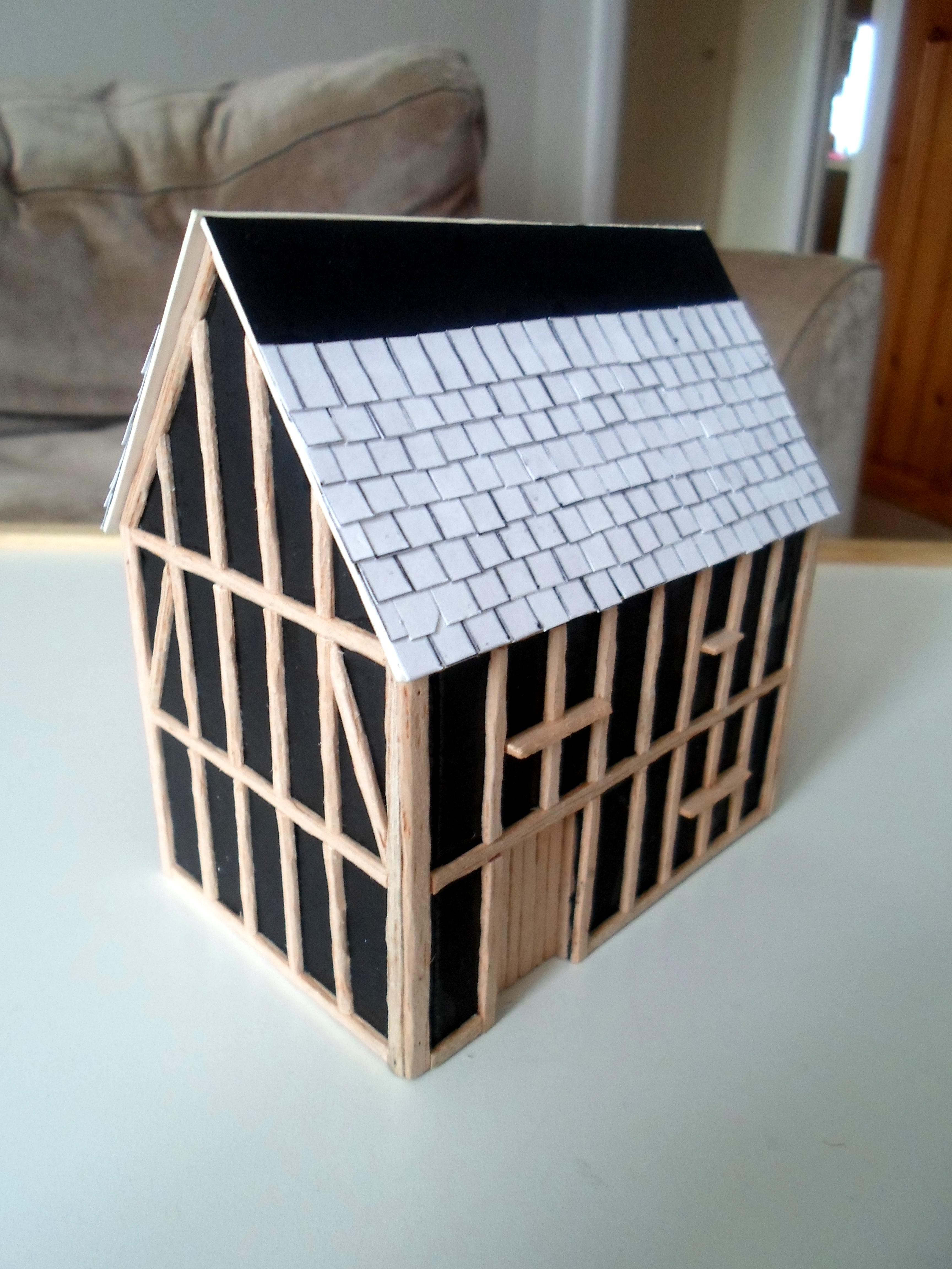 Mordheim Town House (front)