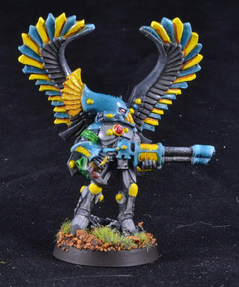 Eldar, Exarch, Swooping Hawks, Warhammer 40,000