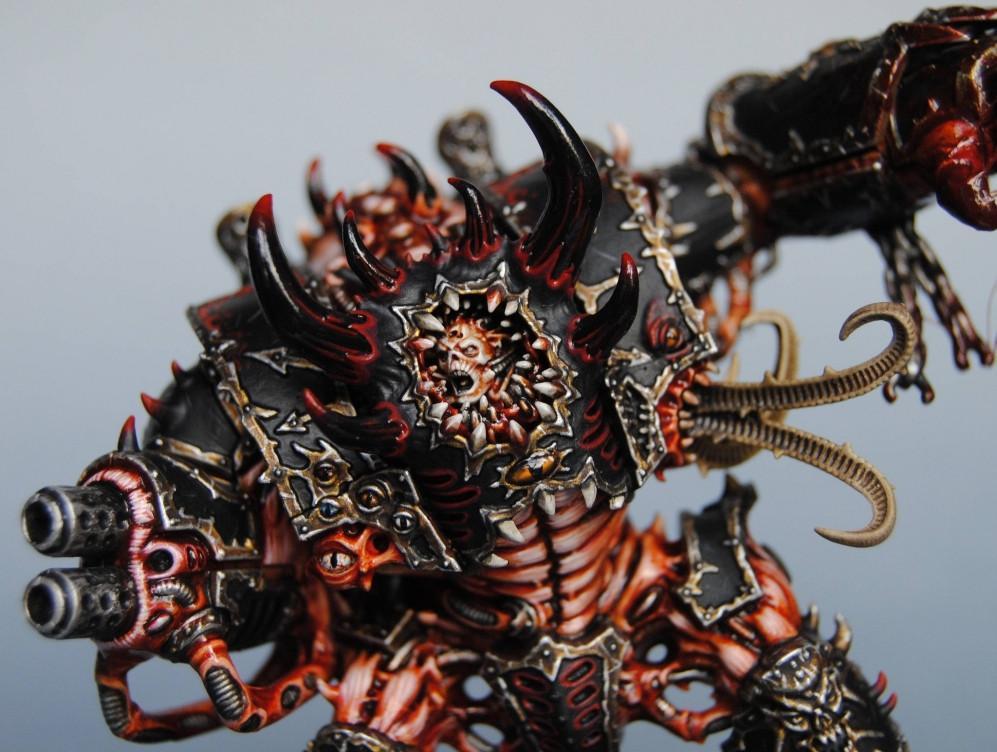 Black Legion, Chaos, Dreadnought, Hellbrute