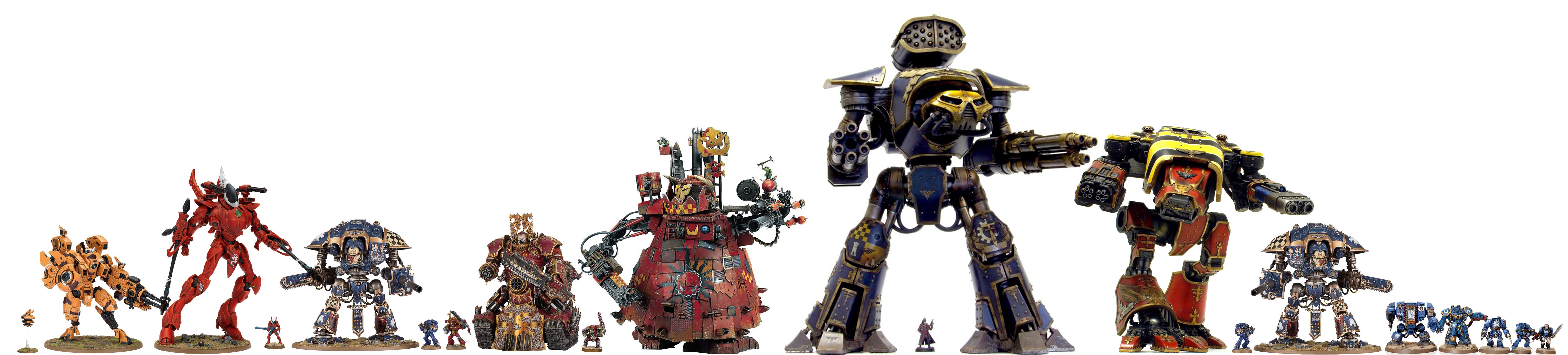 Imperial, Knights, Size, Titan