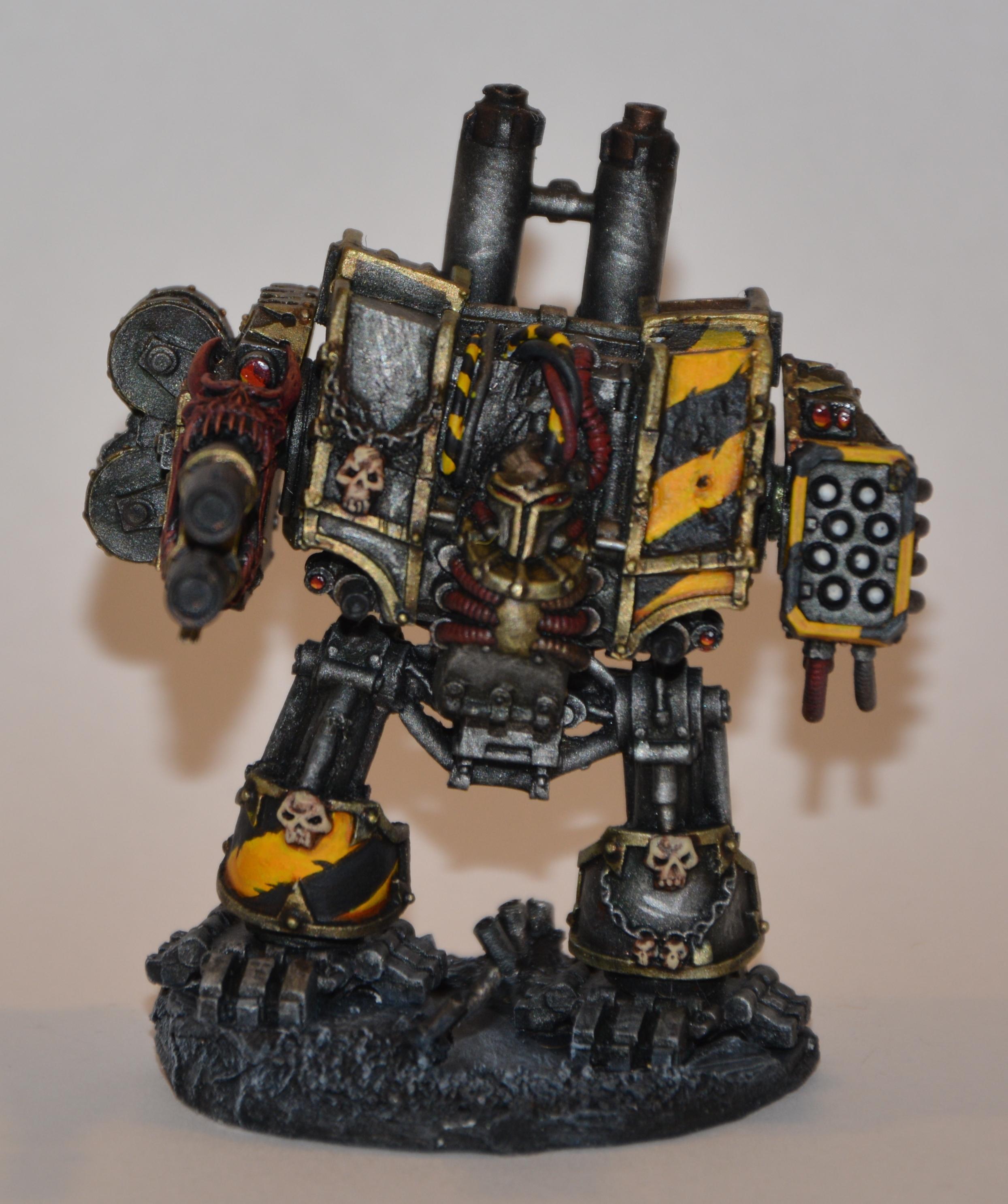 Iron Warrior Hellbrute Front