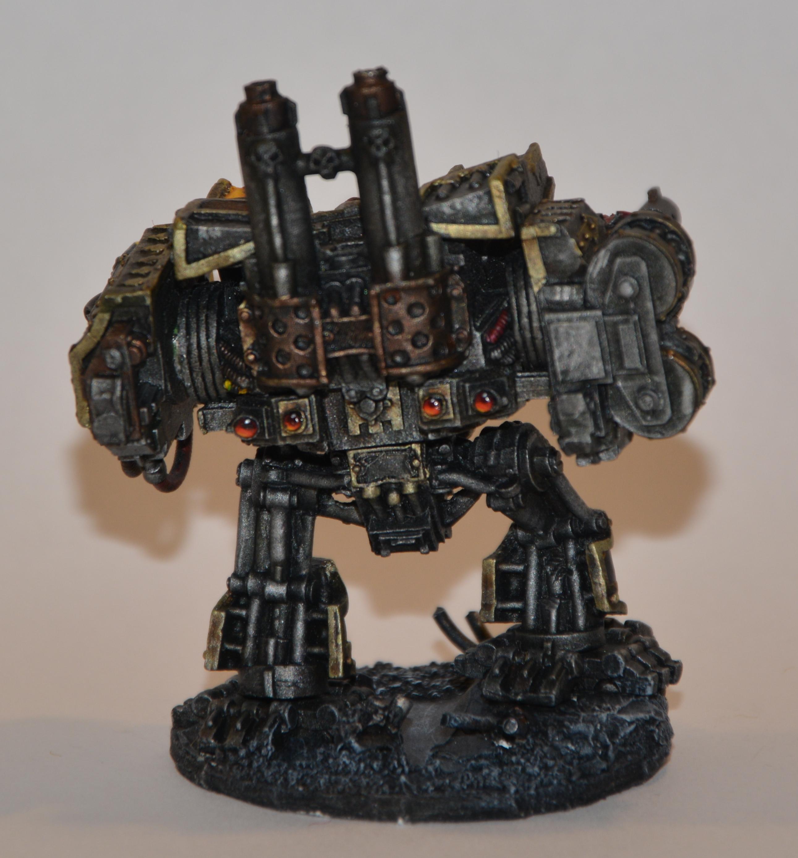 Iron Warrior Hellbrute Back