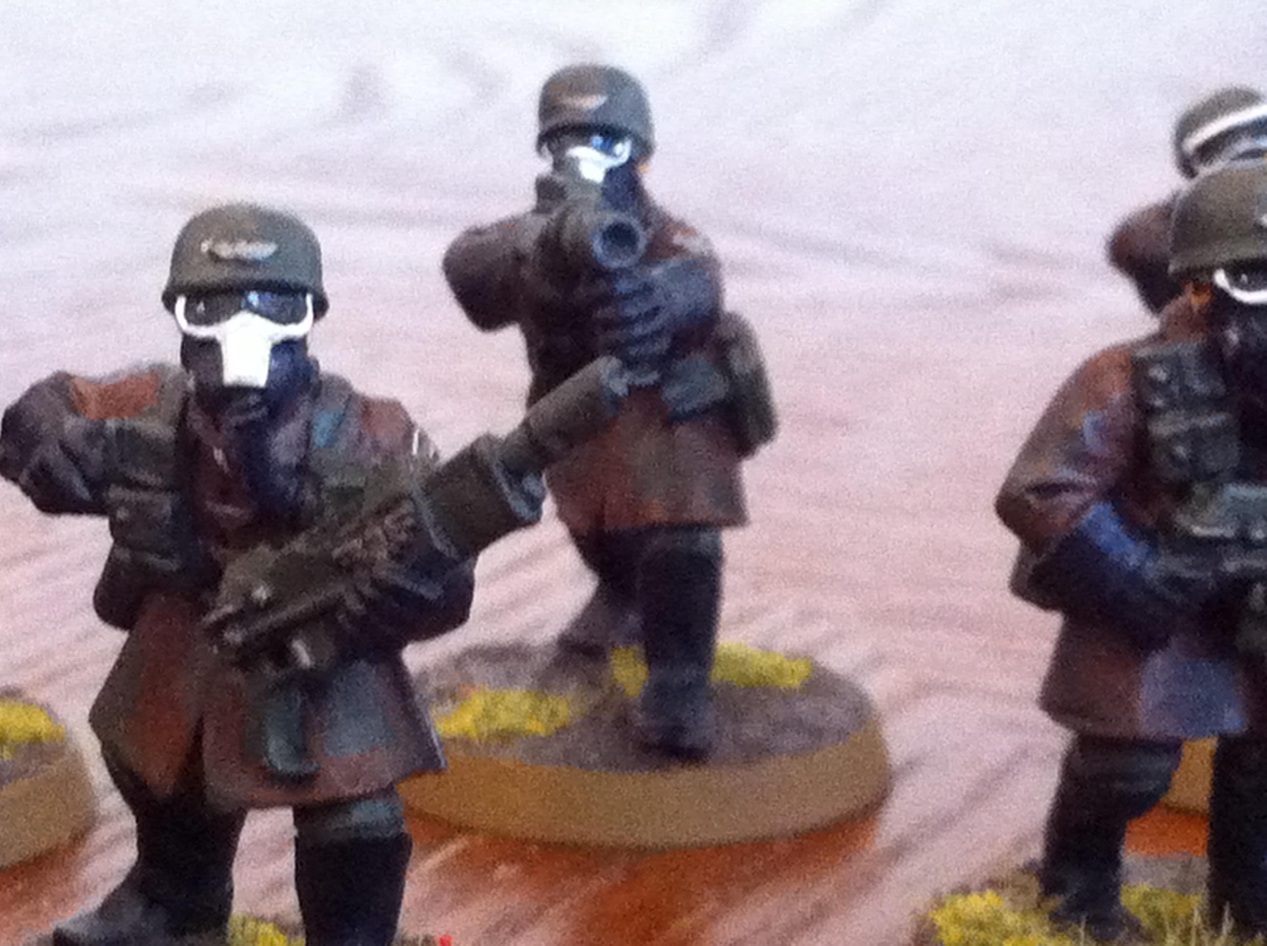 Gas Mask, Imperial Guard, Skull, Steel Legion