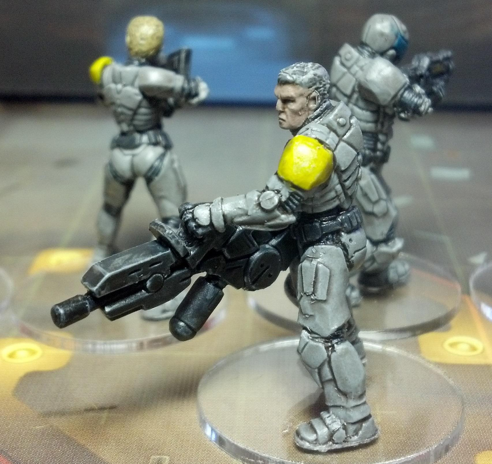 Dipped, Scifi, Sedition Wars, Strain, Vanguard, Zombie