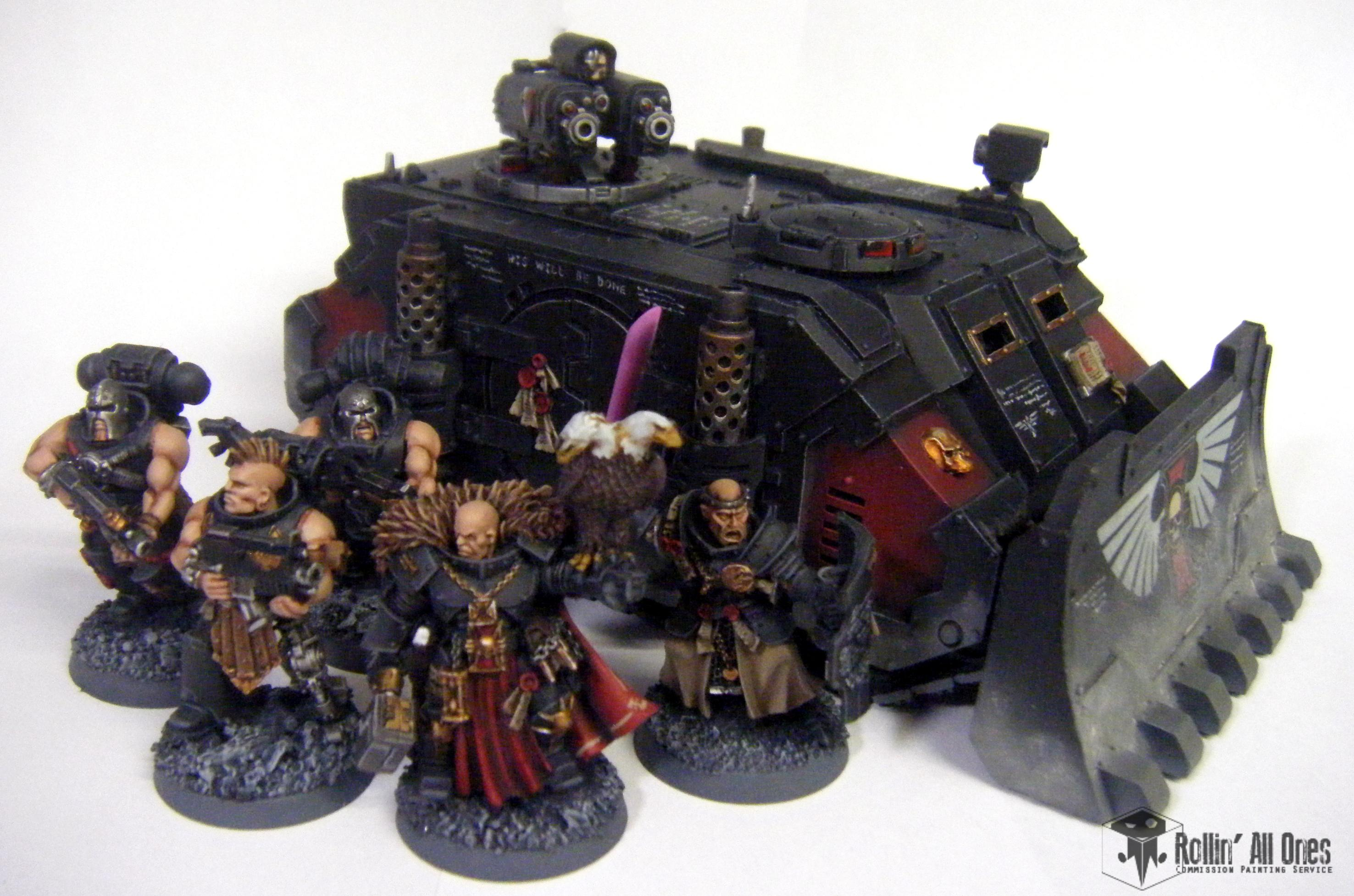 Deimos, Forge World, Henchmen, Inquisition, Razorback, Retinue