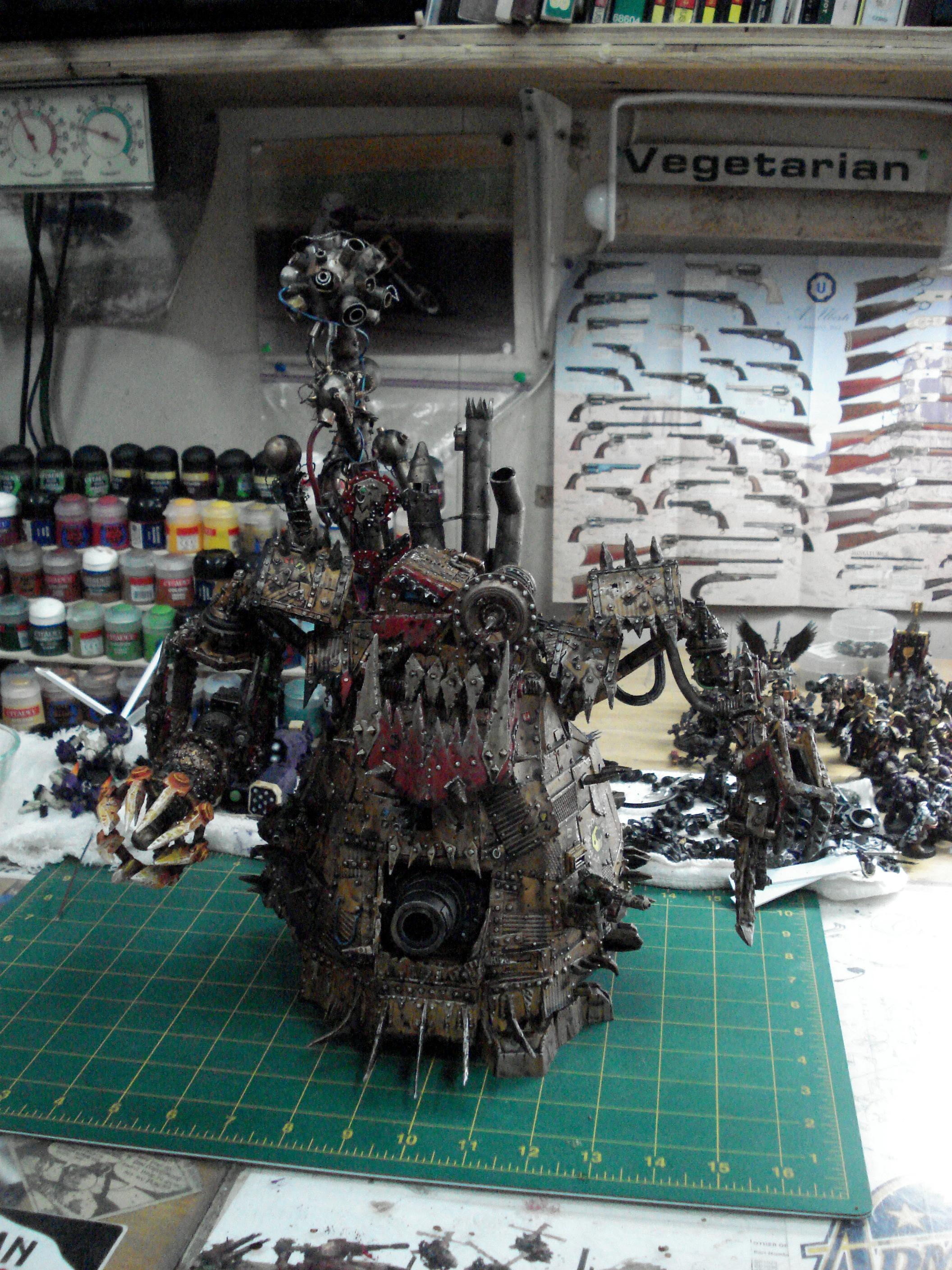 Apocalypse, Bad, Belly, Big Mek, Cannon, Claw, Comission, Crew, Custom, Deff, Defilier, Dreadnought, Field, Force, Kustom, Lifta Droppa, Looted, Mekboy, Mob, Moons, Orks, Scrap, Space, Space Marines, Stompa, Trukk