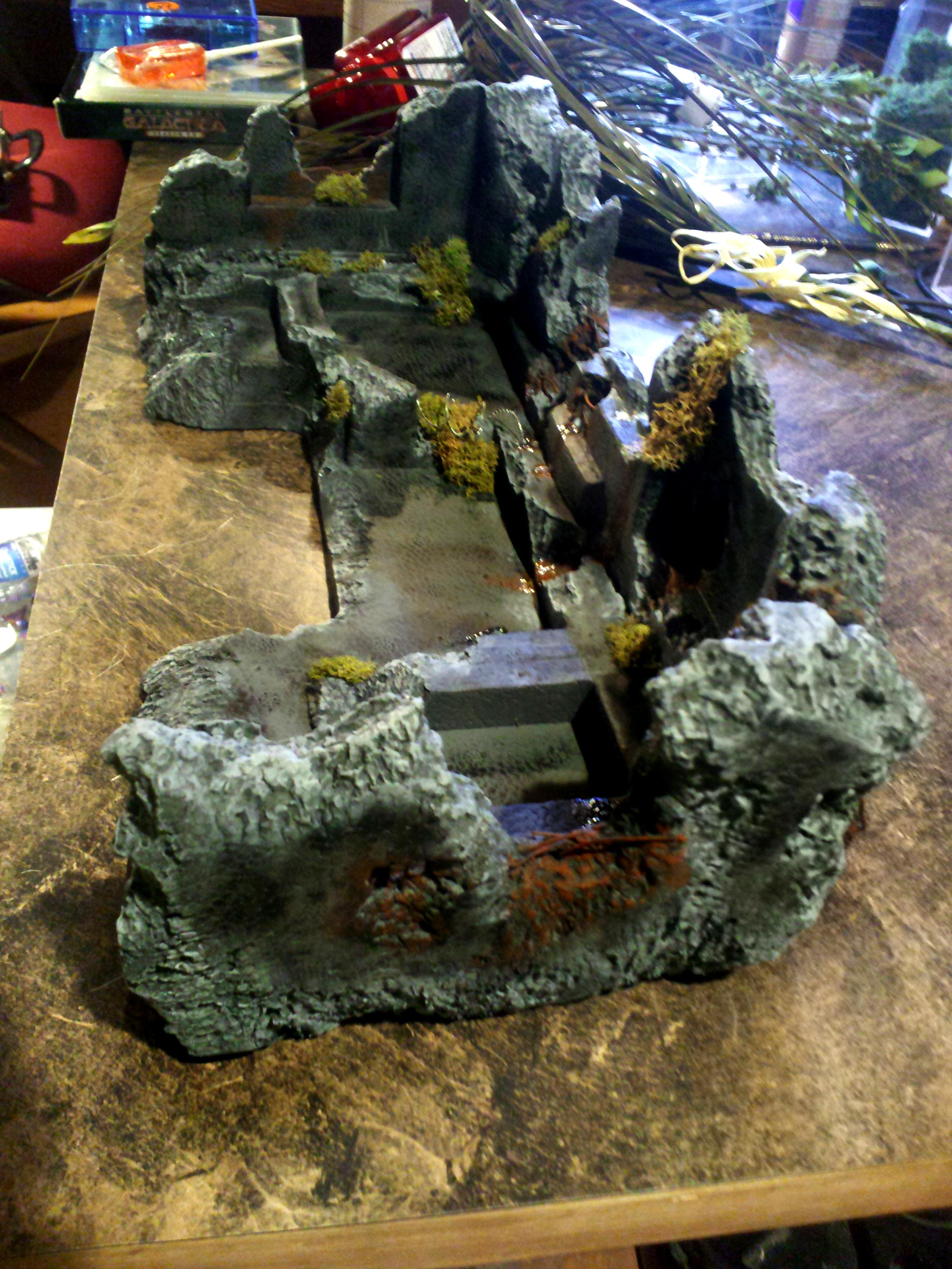 Buildings, Bunker, Concrete, Fort, Imperial, Ruined, Space Marines