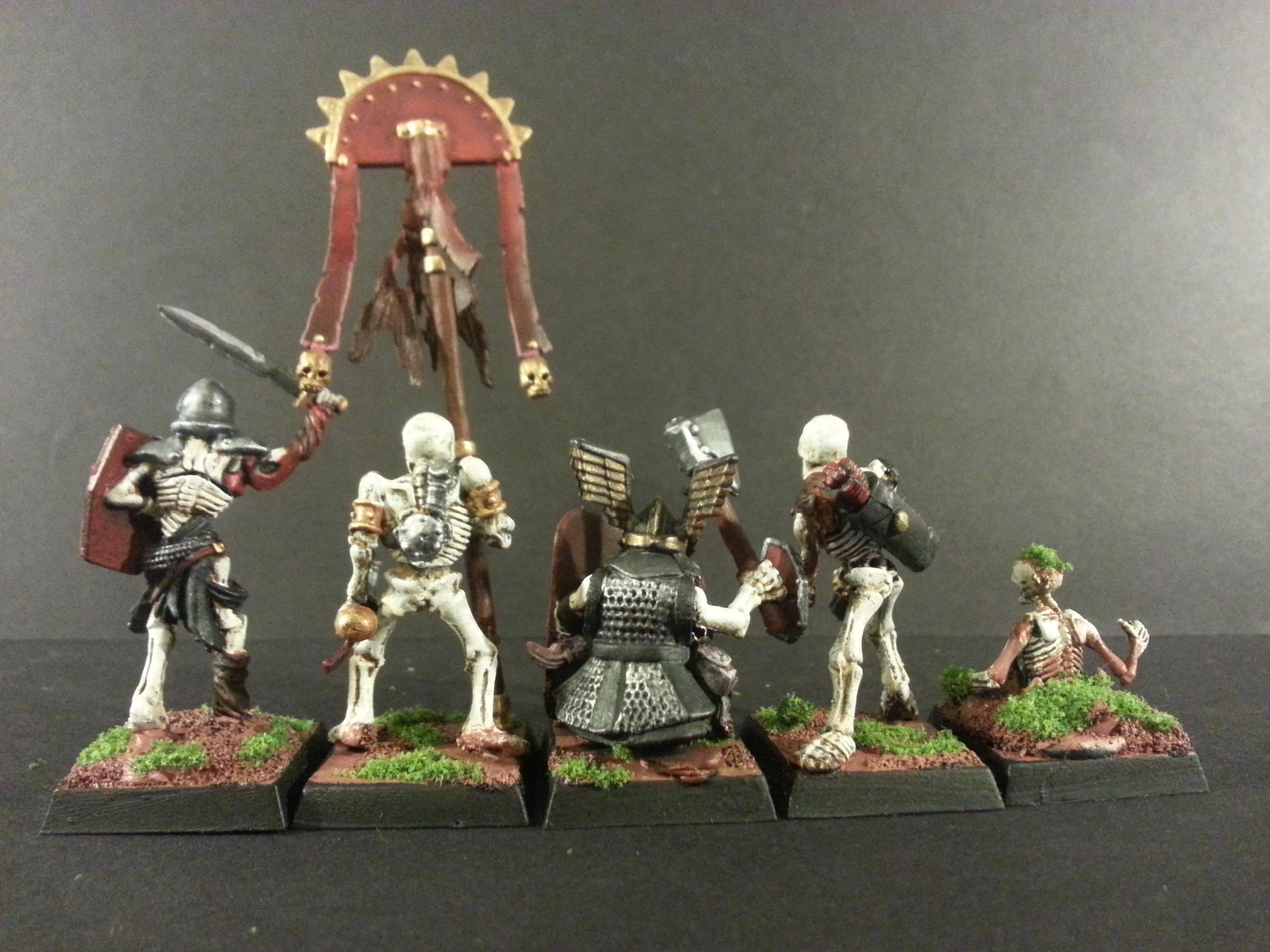 Dwarves, Games Workshop, Mantic Games, Scutum Shield, Skeleton Warriors, Undead, Warhammer Fantasy