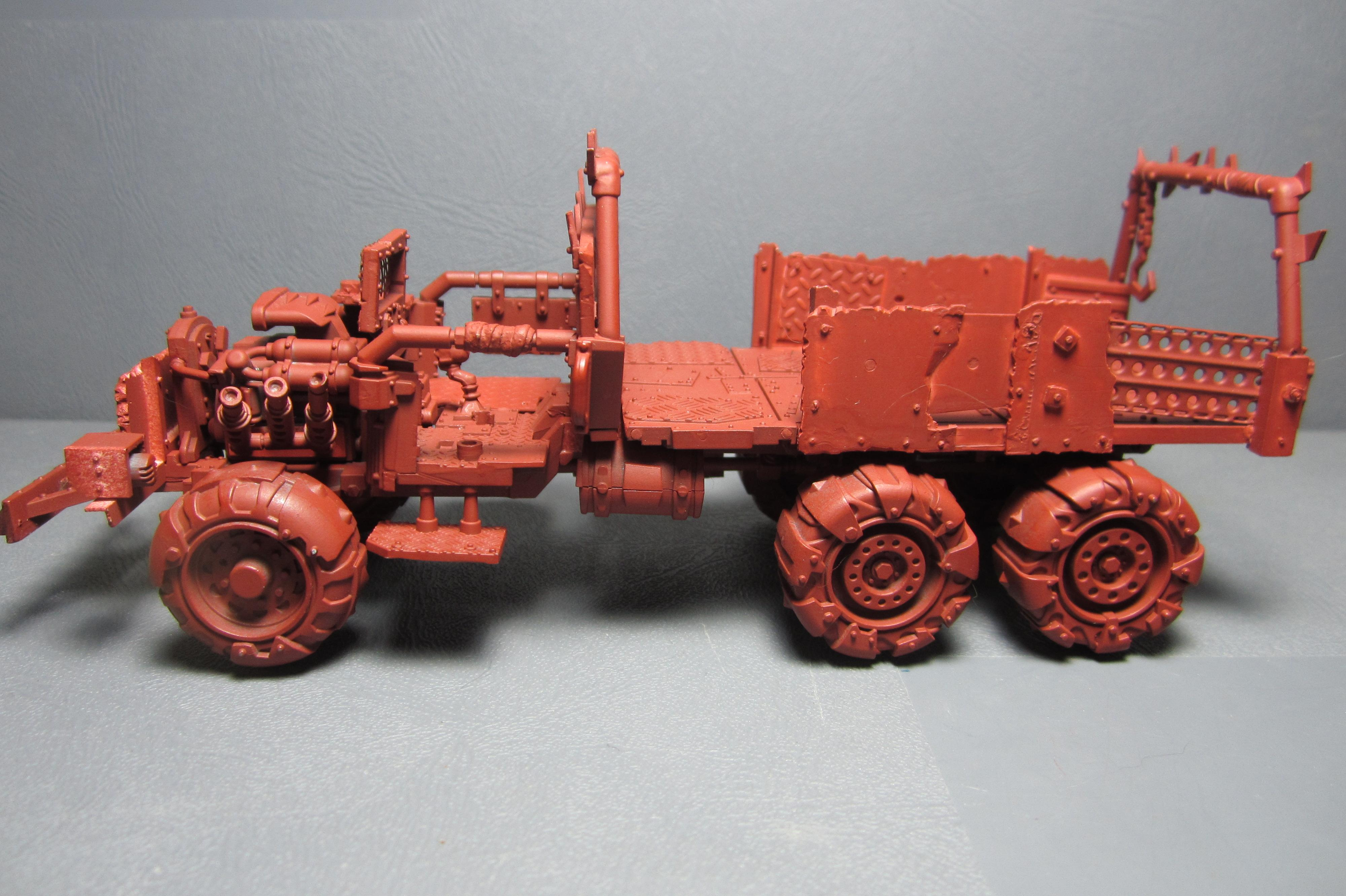 Conversion, Gorka Morka, Ork Trukk, Orks, Vehicle, Warhammer 40,000