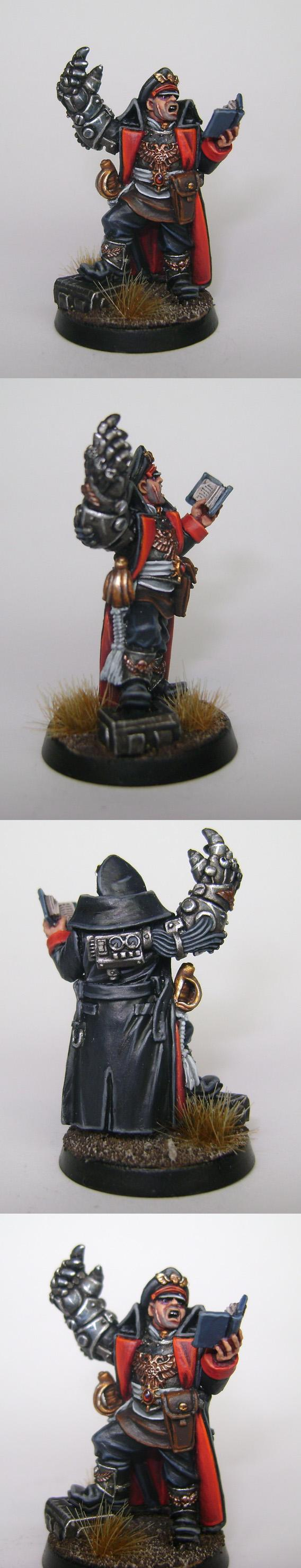 Commissar, Imperial Guard, Warhammer 40,000