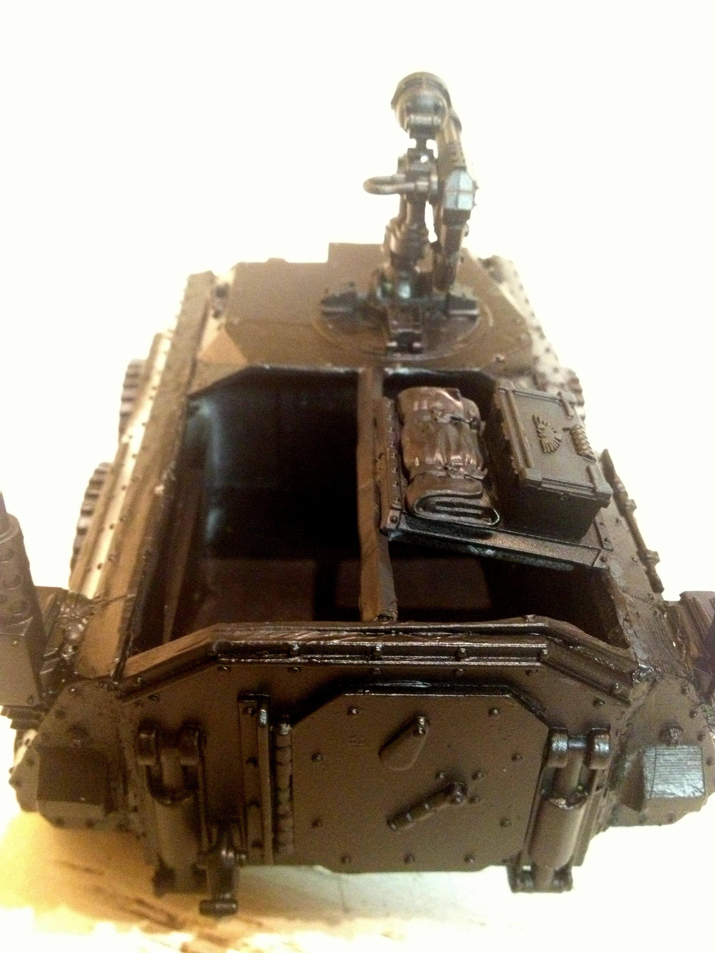 Astra Milistratum, Imperial Guard, Open Top, Wheeled