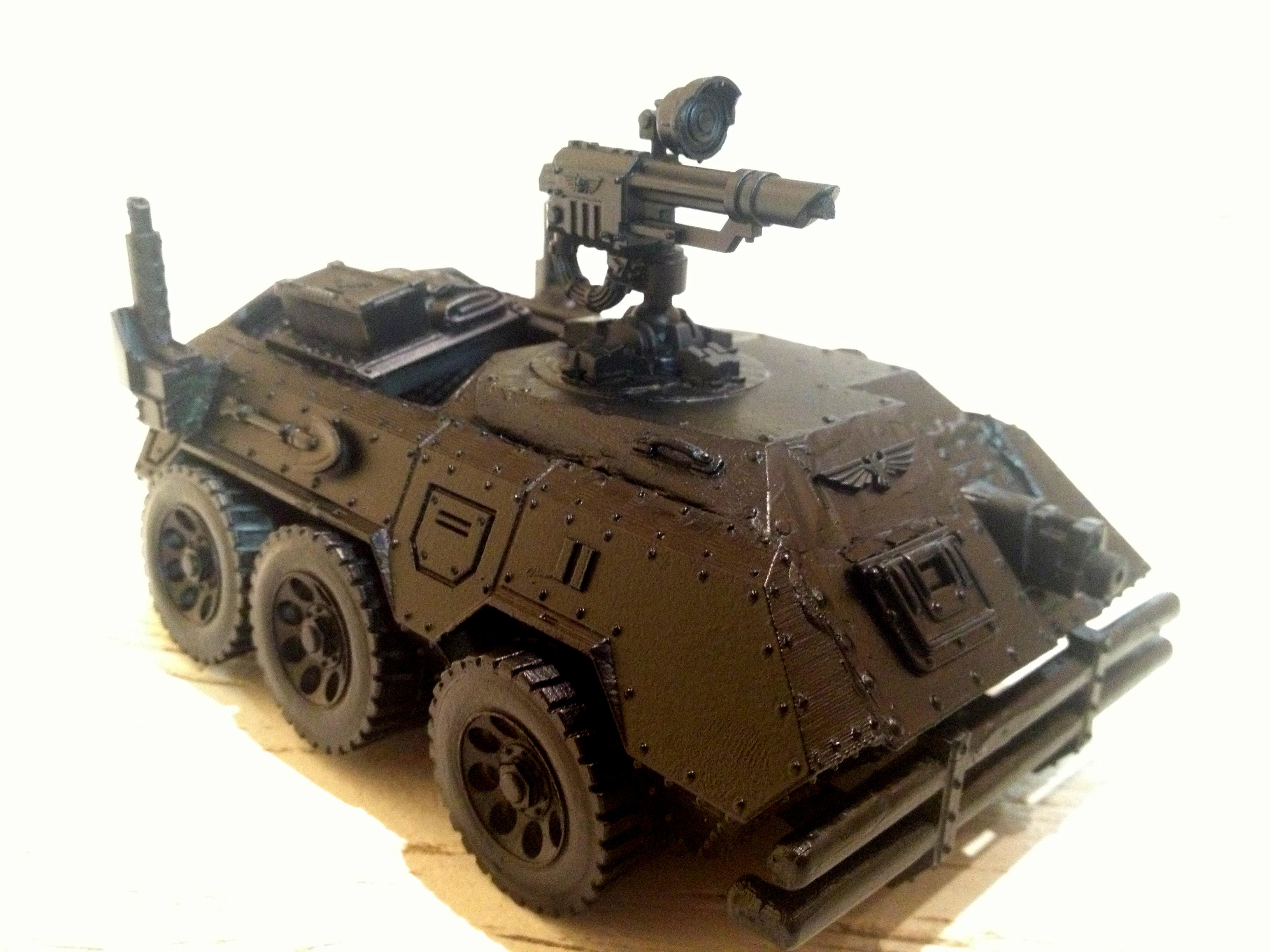 Astra Milistratum, Catachan, Chimera, Conversion, Imperial Guard, Open Top, Wheeled, Wheeled Chimera