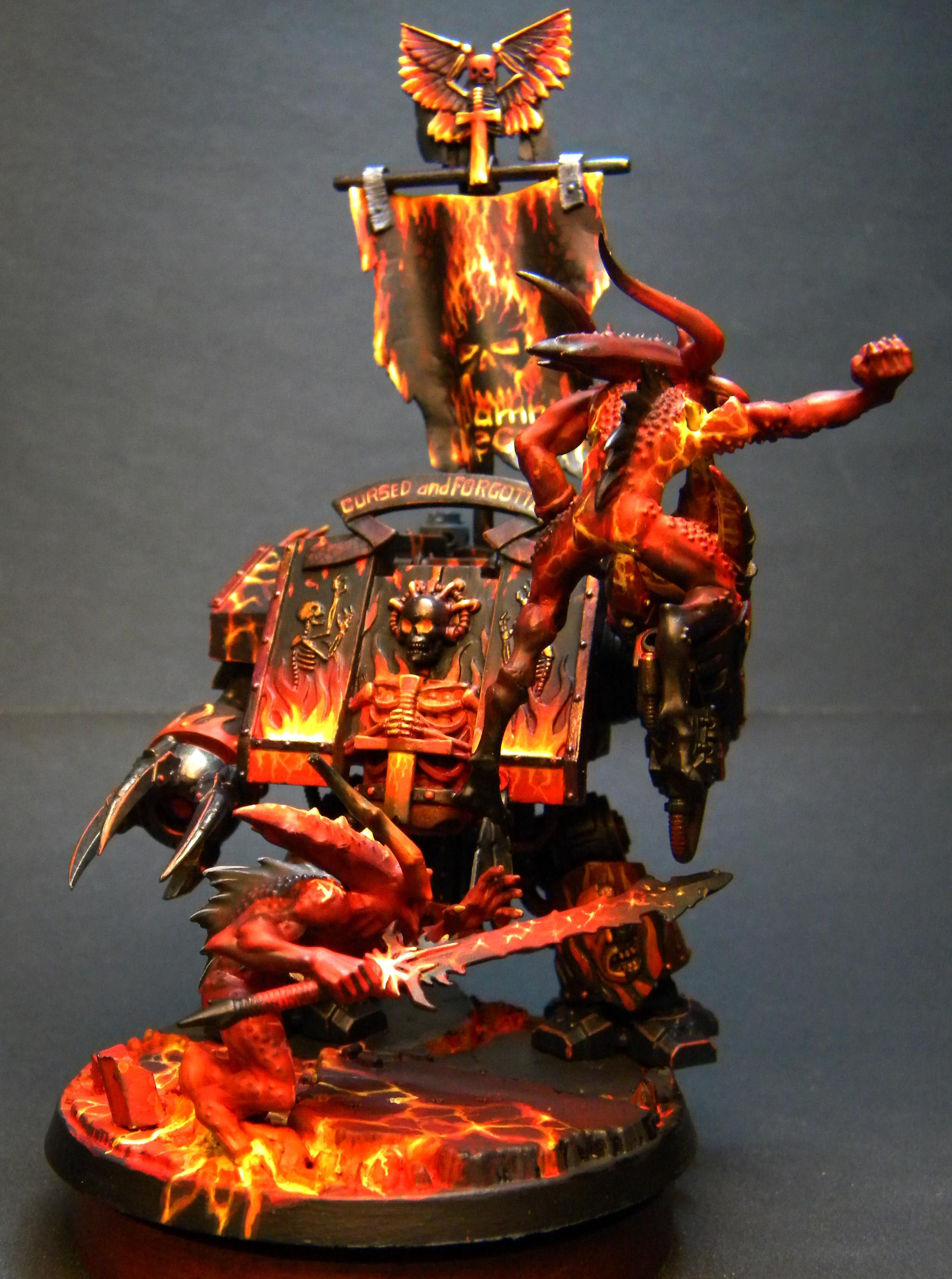 Bloodletters, Dreadnought, Khorne, Legion Of The Damned, Lotd